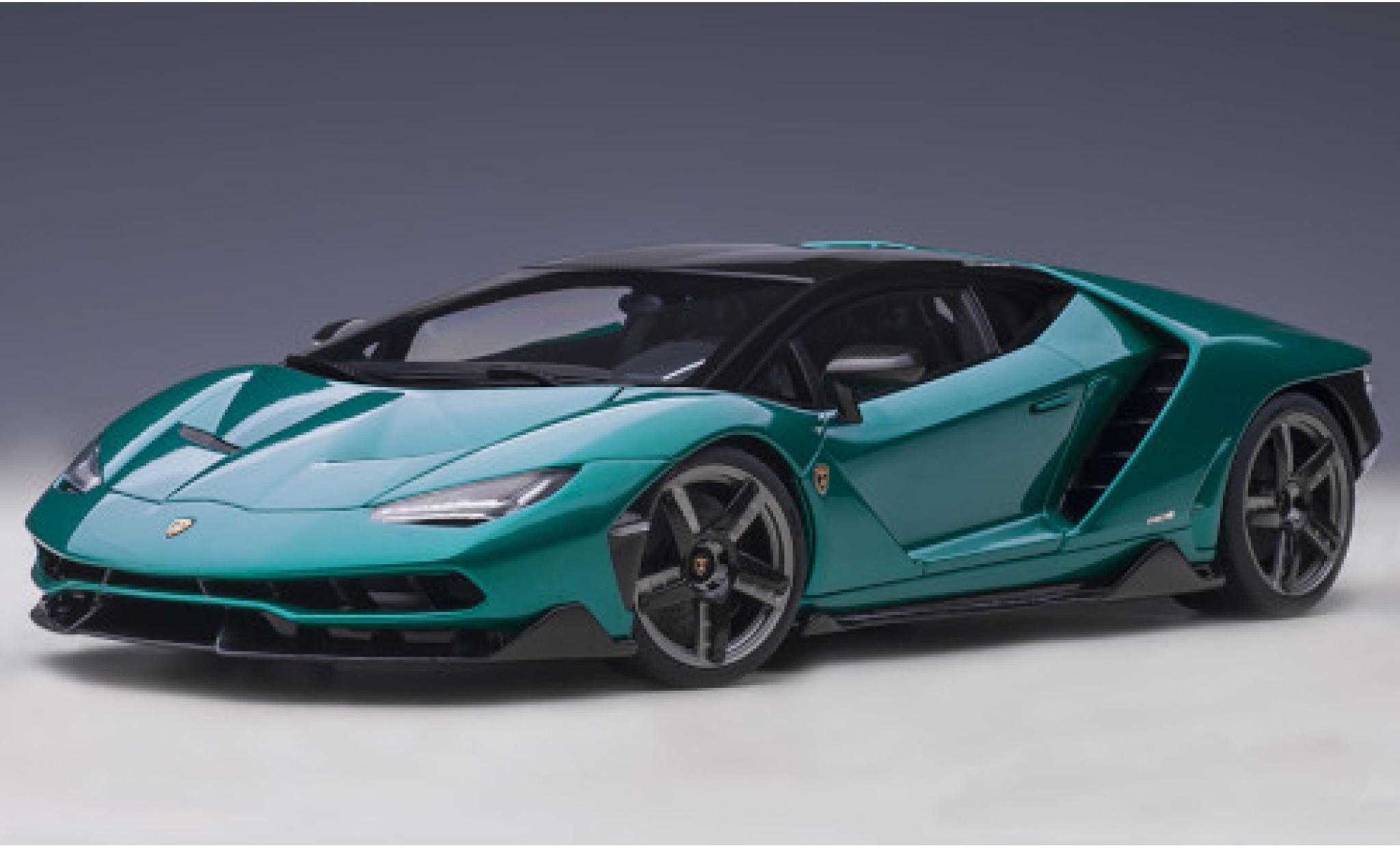 Lamborghini Centenario 1/18 AUTOart metallise verte/carbon 2016