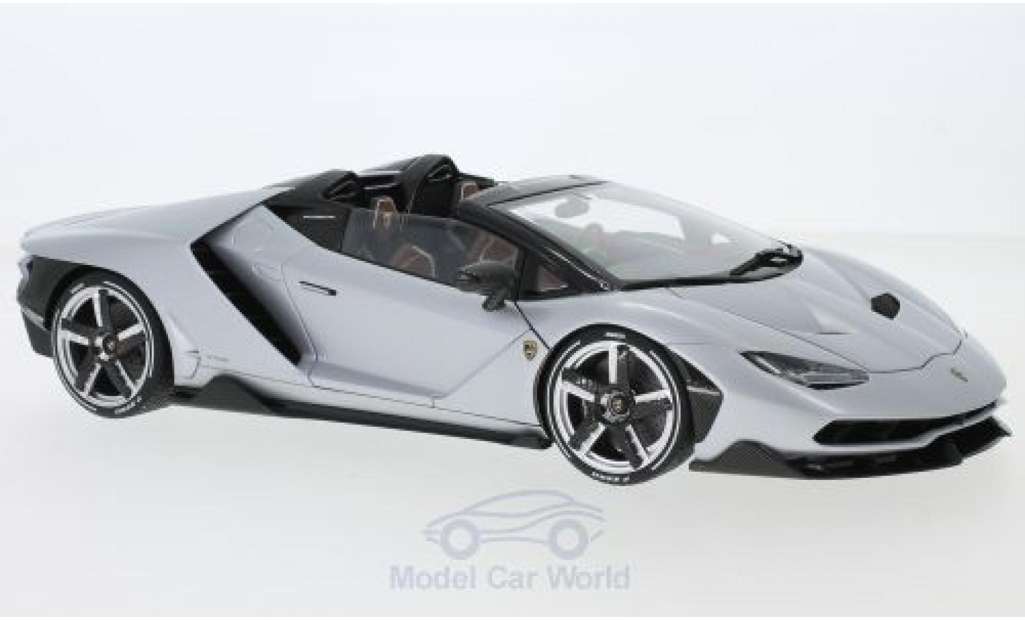 Lamborghini Centenario 1/18 AUTOart Roadster matt-grey 2016