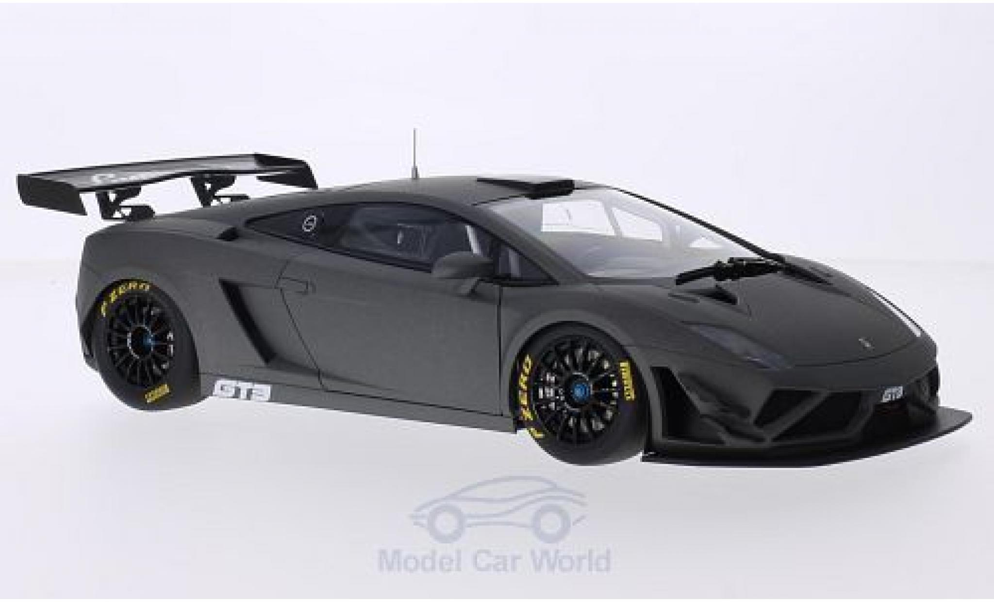 Lamborghini Gallardo 1/18 AUTOart GT3 FL2 matt-grey 2013 Plain Body Version