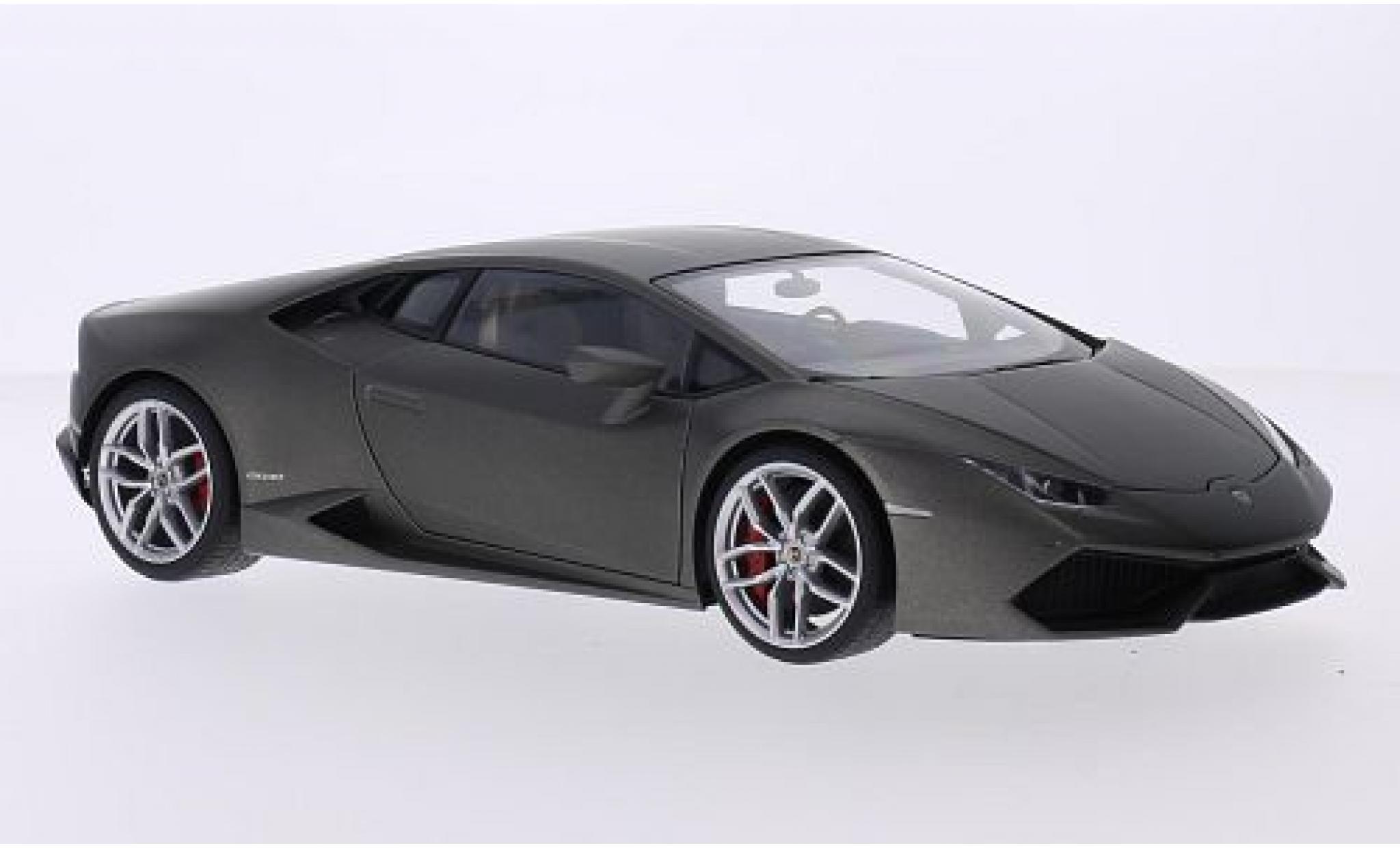 Lamborghini Huracan 1/43 AUTOart LP610-4 matt-grise 2014