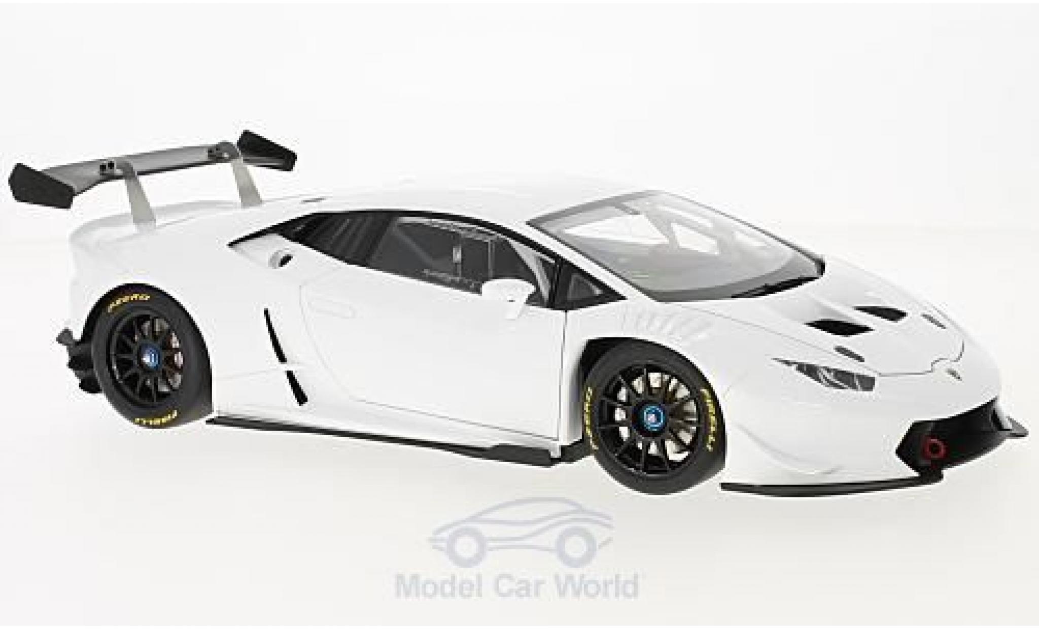Lamborghini Huracan 1/18 AUTOart Super Trofeo blanche 2016