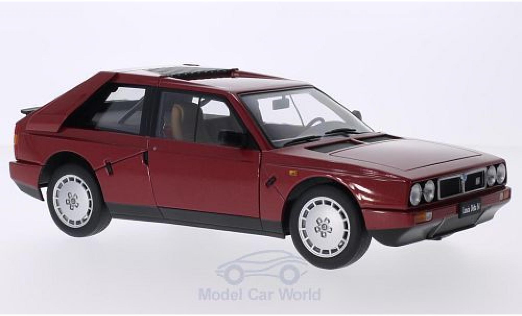 Lancia Delta S4 1/18 AUTOart metallise rouge 1985