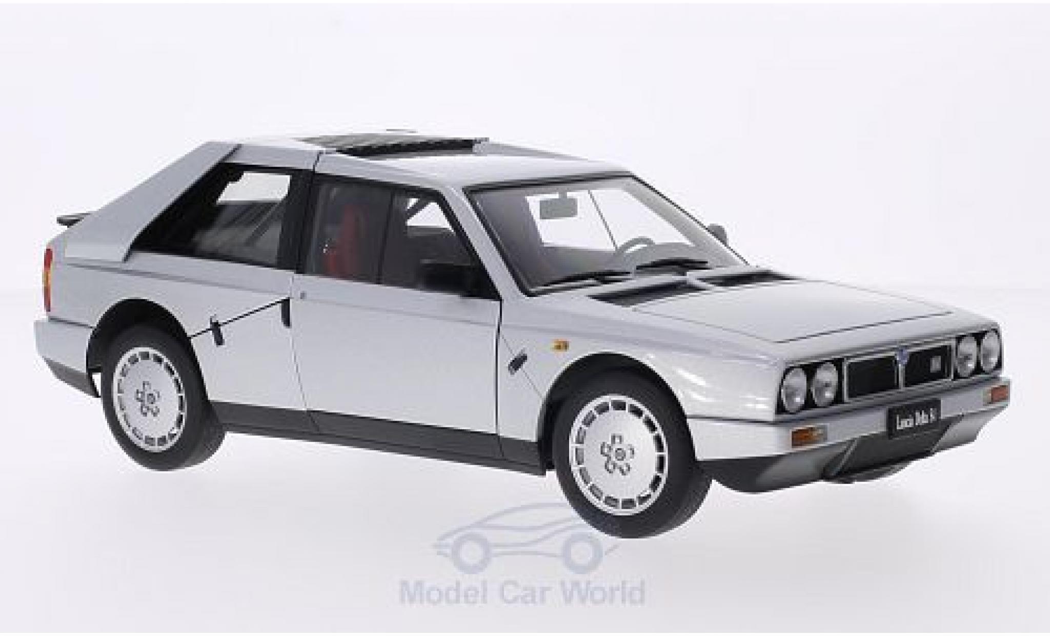 Lancia Delta S4 1/18 AUTOart metallise grise 1985