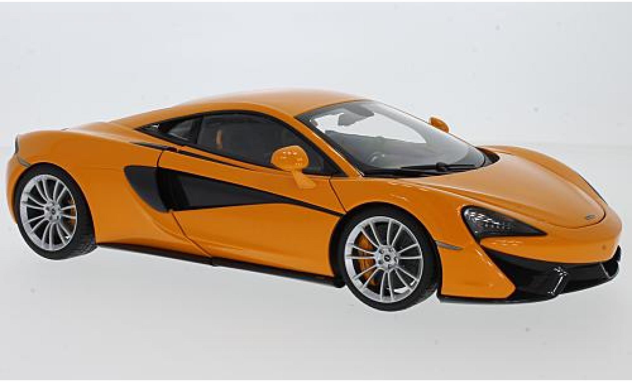McLaren 570 1/18 AUTOart S orange 2016 avec grisenen Rädern