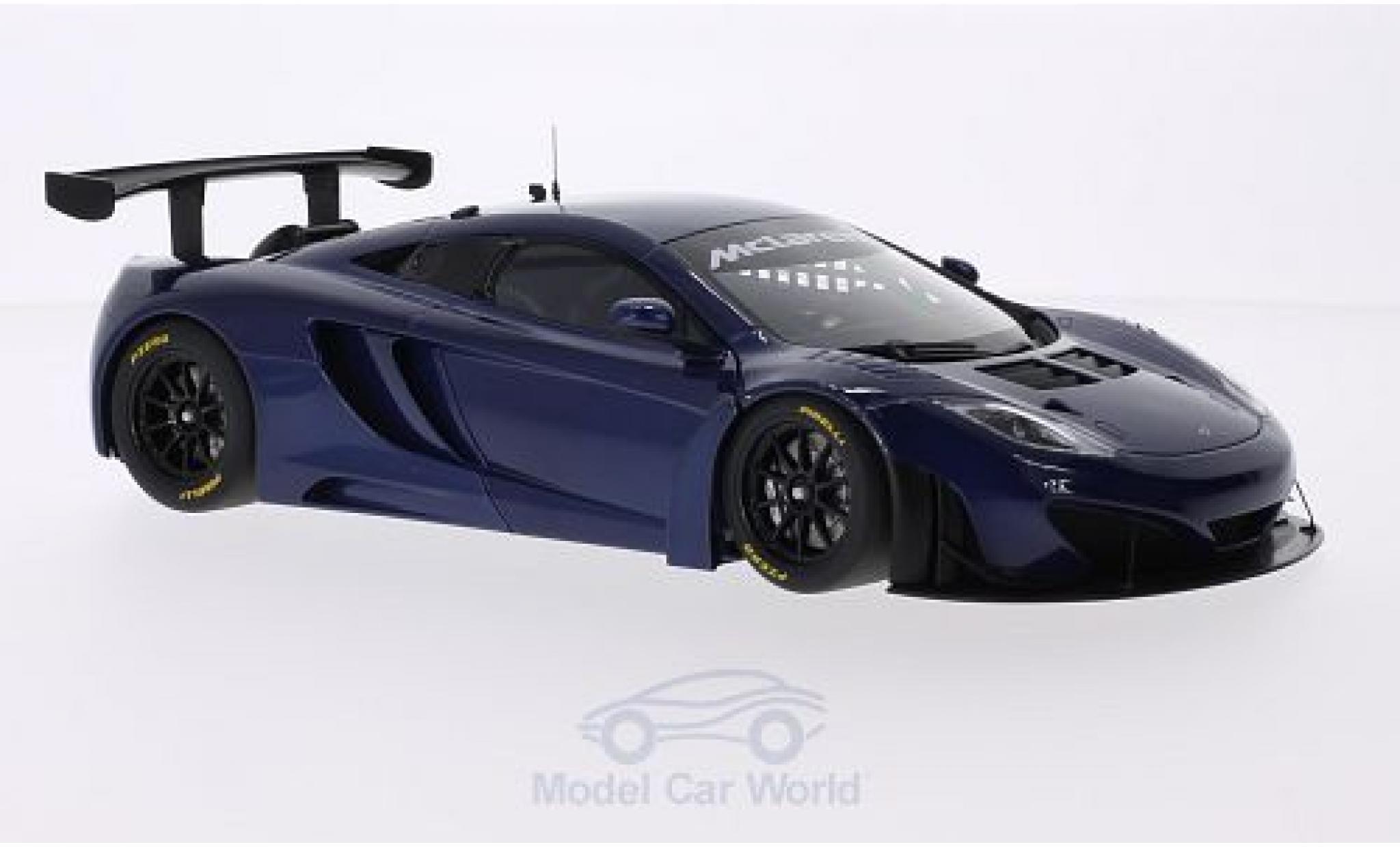 McLaren MP4-12C 1/18 AUTOart GT3 metallic-bleue RHD 2011