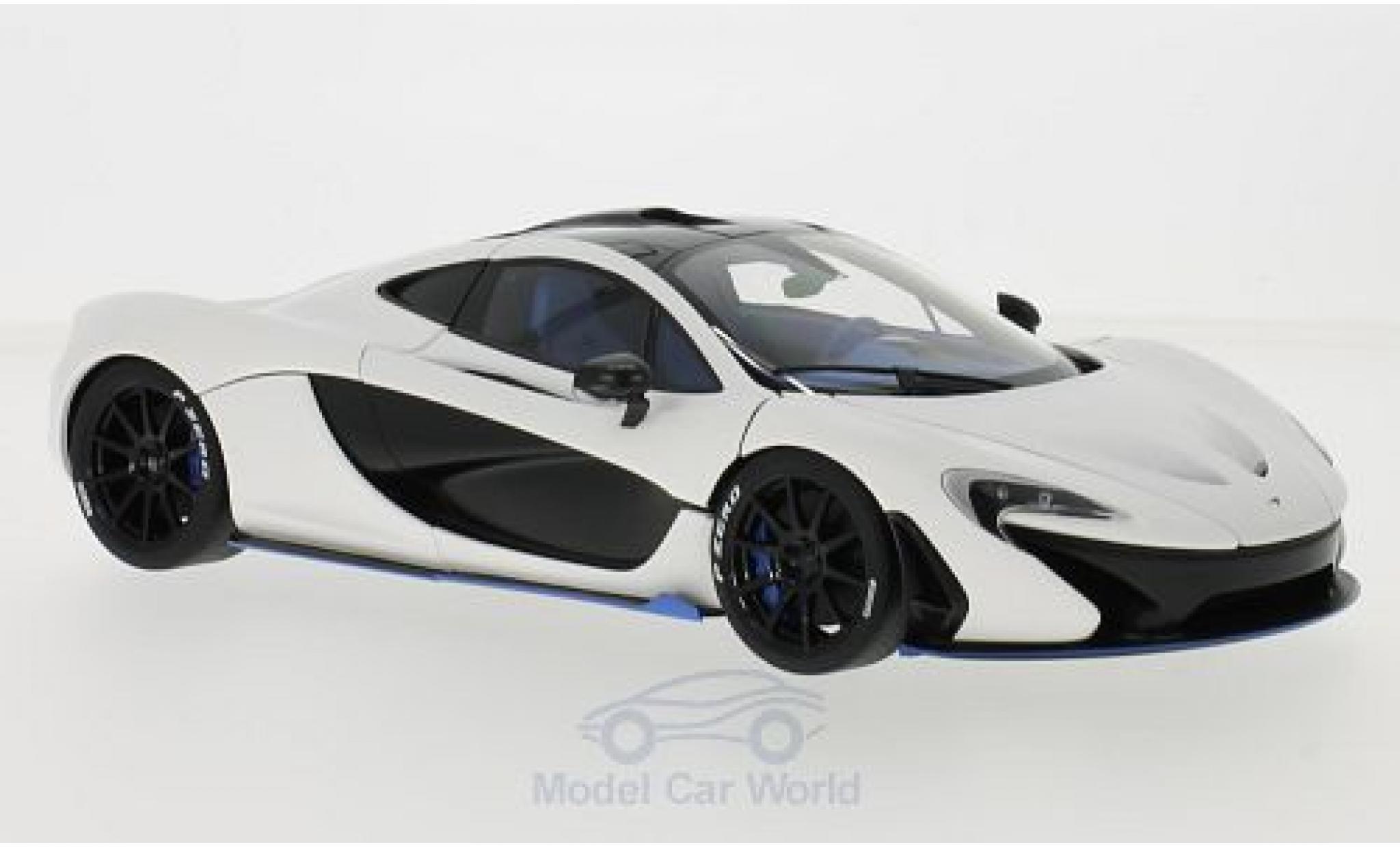 McLaren P1 1/18 AUTOart matt-blanche RHD 2013