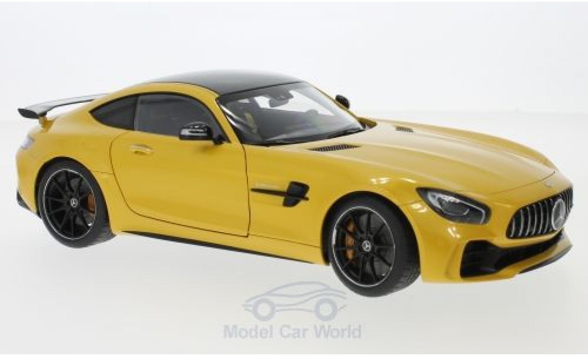 Mercedes AMG GT 1/18 AUTOart R metallise jaune 2017