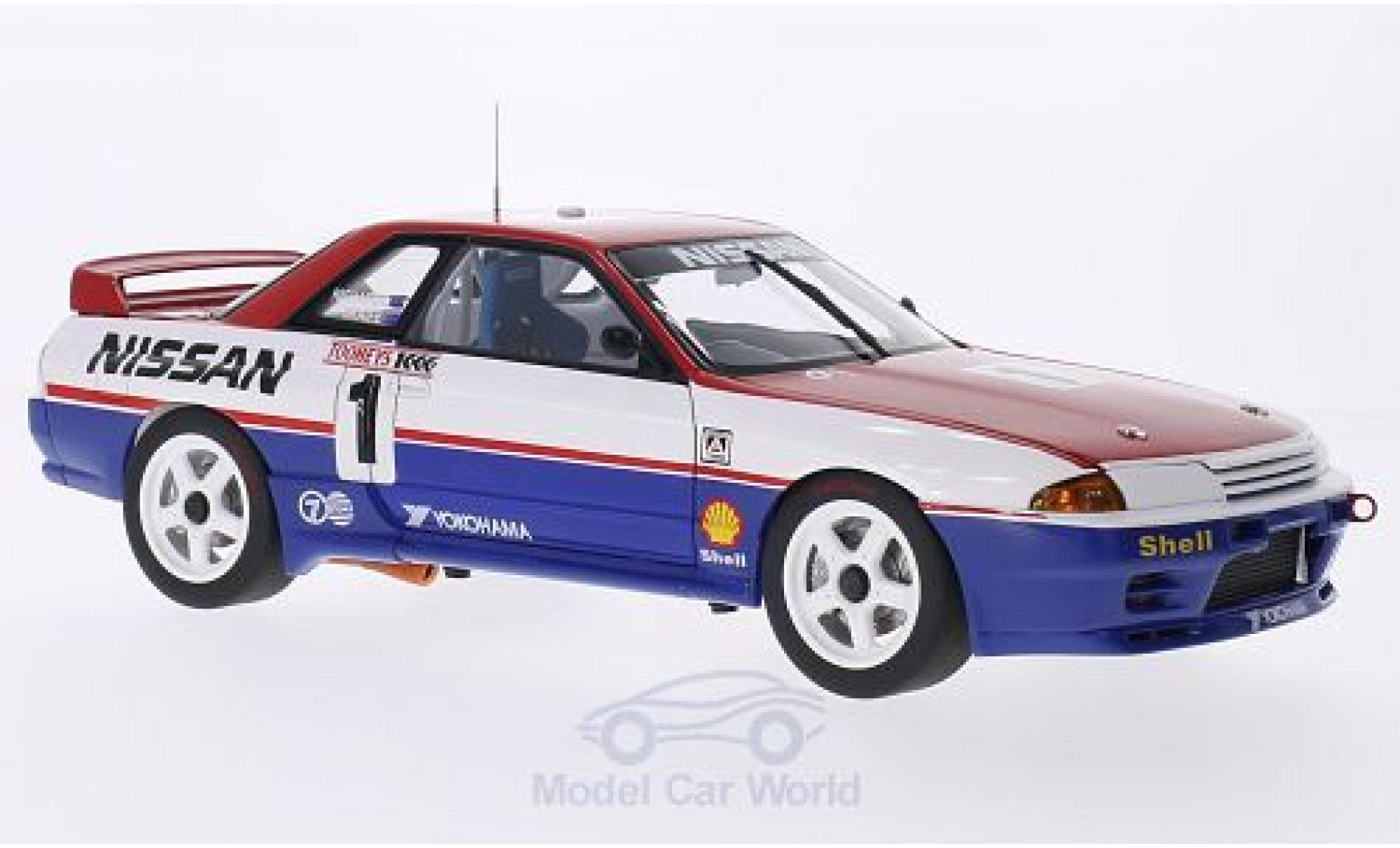 Nissan Skyline 1/18 AUTOart GT-R (R32) RHD No.1 Bathurst 1992 J.Richards/M.Skaife