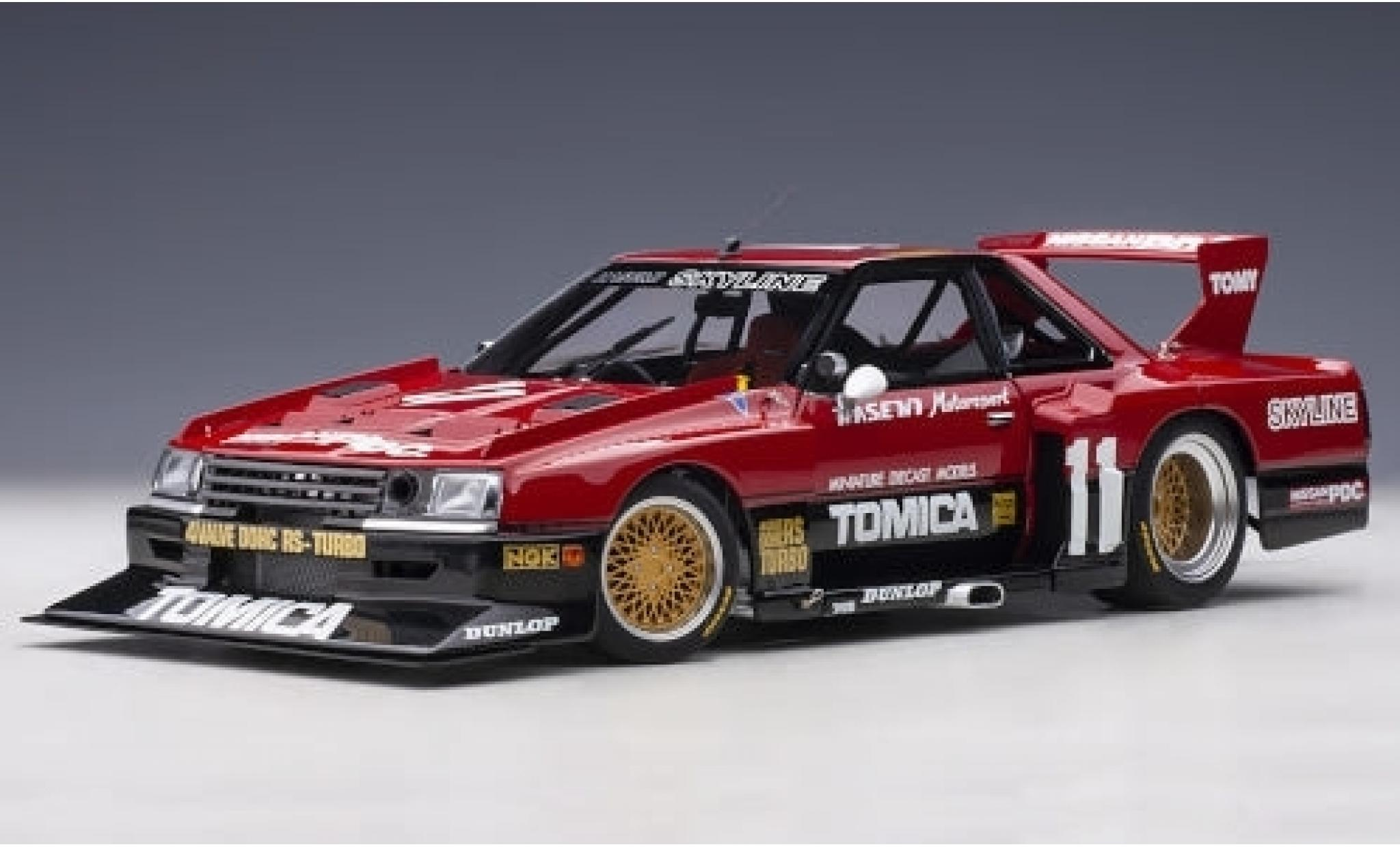 Nissan Skyline 1/18 AUTOart RS Turbo Super Silhouette (DR30) RHD No.11 Hasemi Motorsport Tomica 1982 Early Version