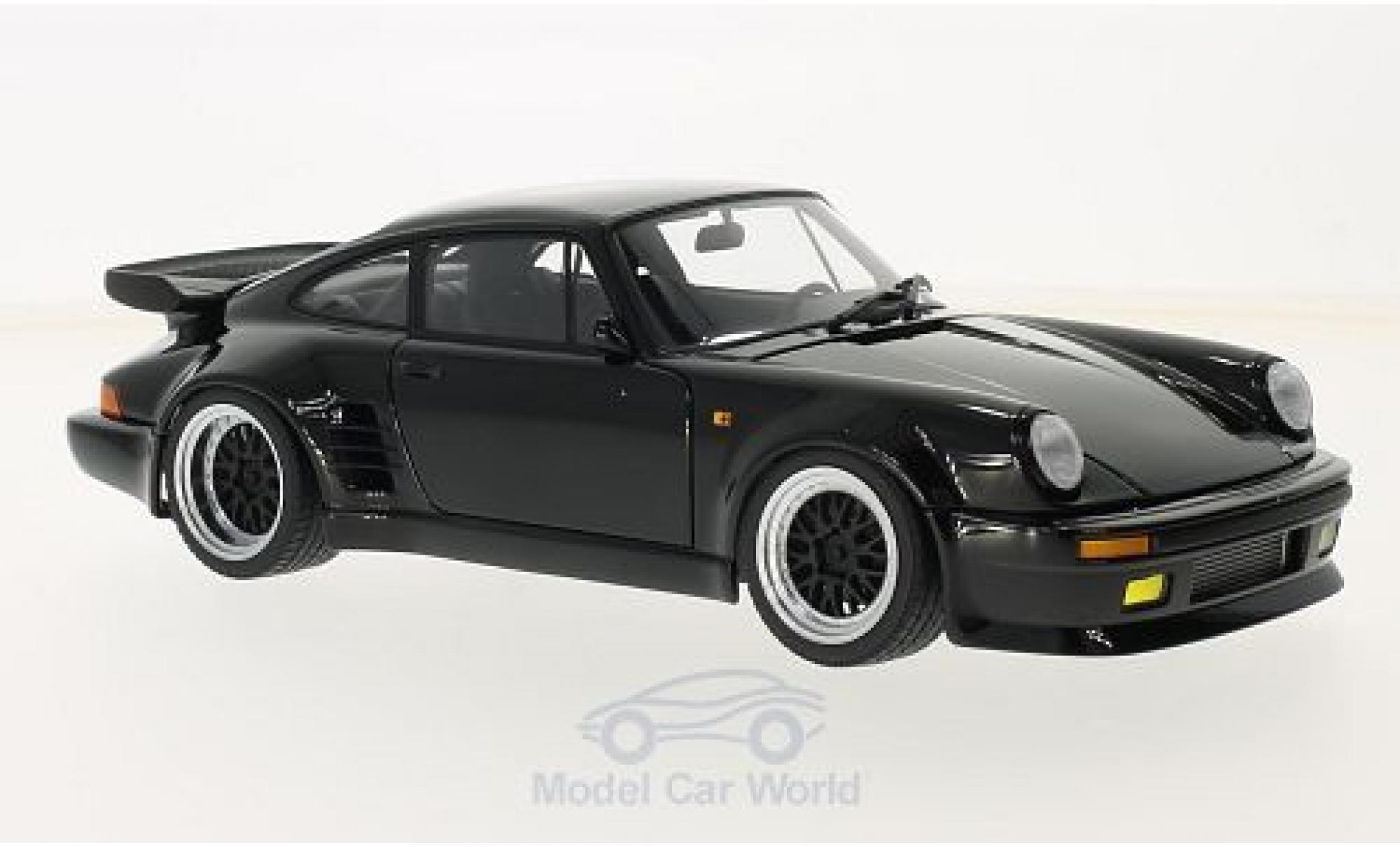 Porsche 911 1/18 AUTOart (930) Turbo noire Wangan Midnight Blackbird