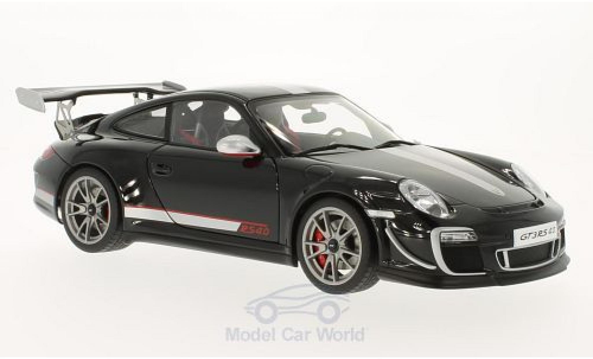 Porsche 997 GT3 RS 1/18 AUTOart 911  4.0 noire 2011