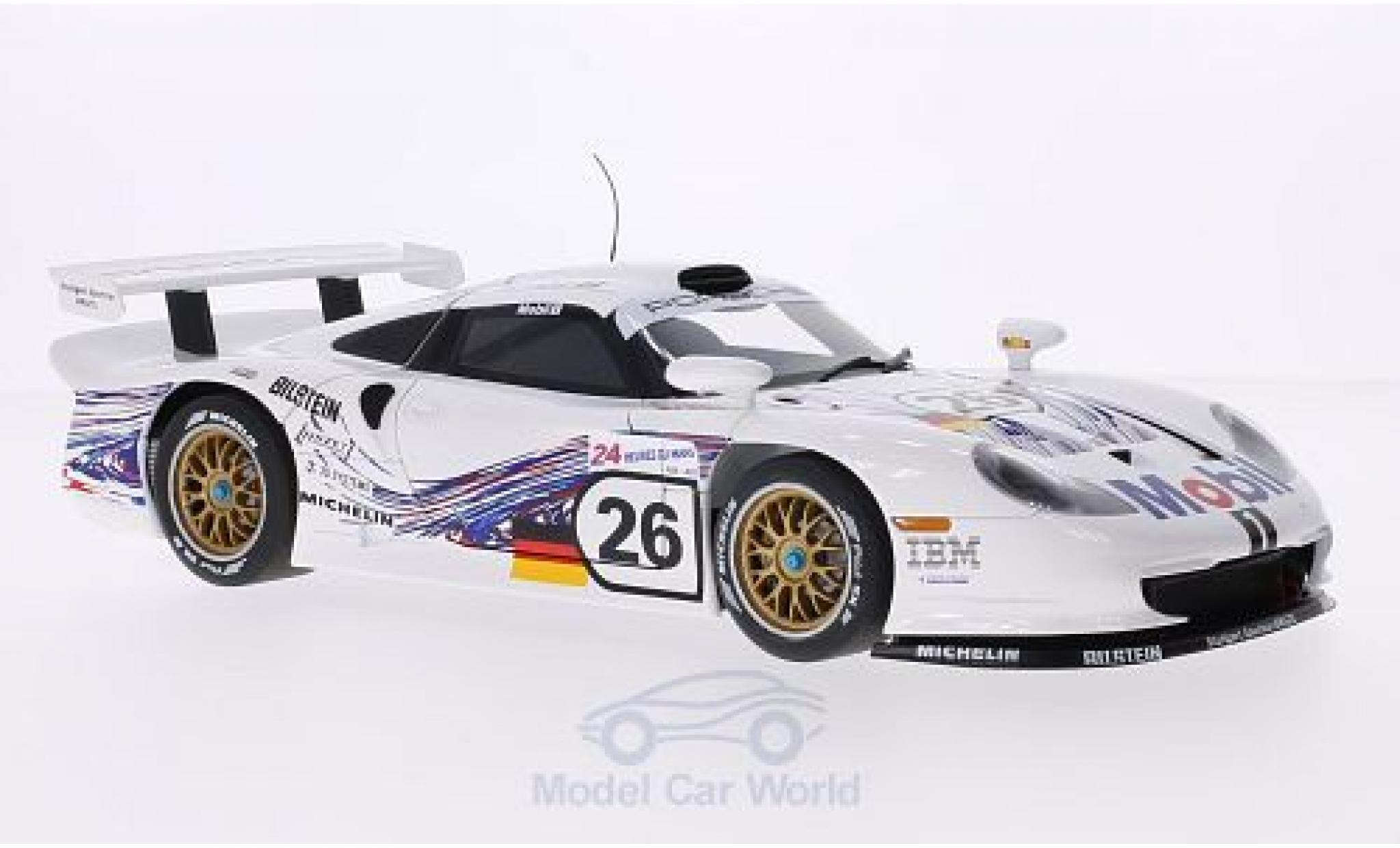Porsche 996 GT1 1/18 AUTOart 911 No.26 24h Le Mans 1997 E.Collard/R.Kelleners/Y.Dalmas