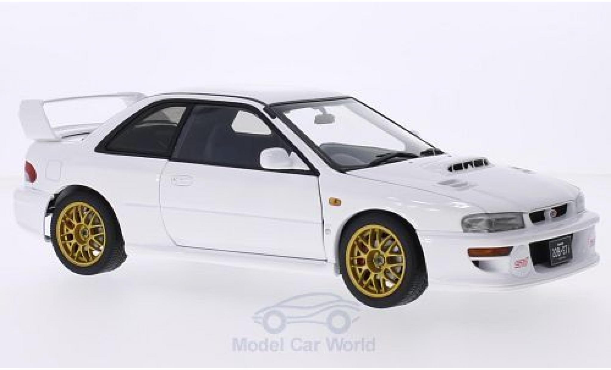 Subaru Impreza 22B 1/18 AUTOart blanche 1998