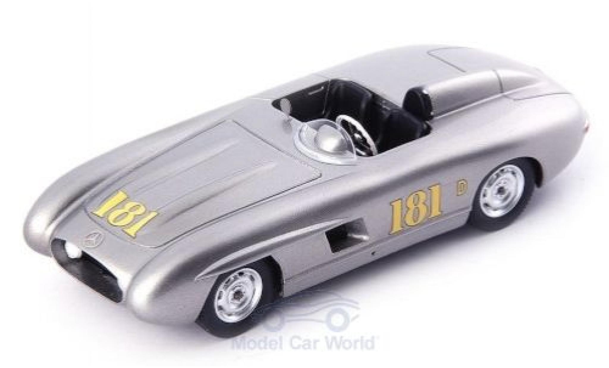 Mercedes 300 1/43 AutoCult SL Porter Special grise 1956