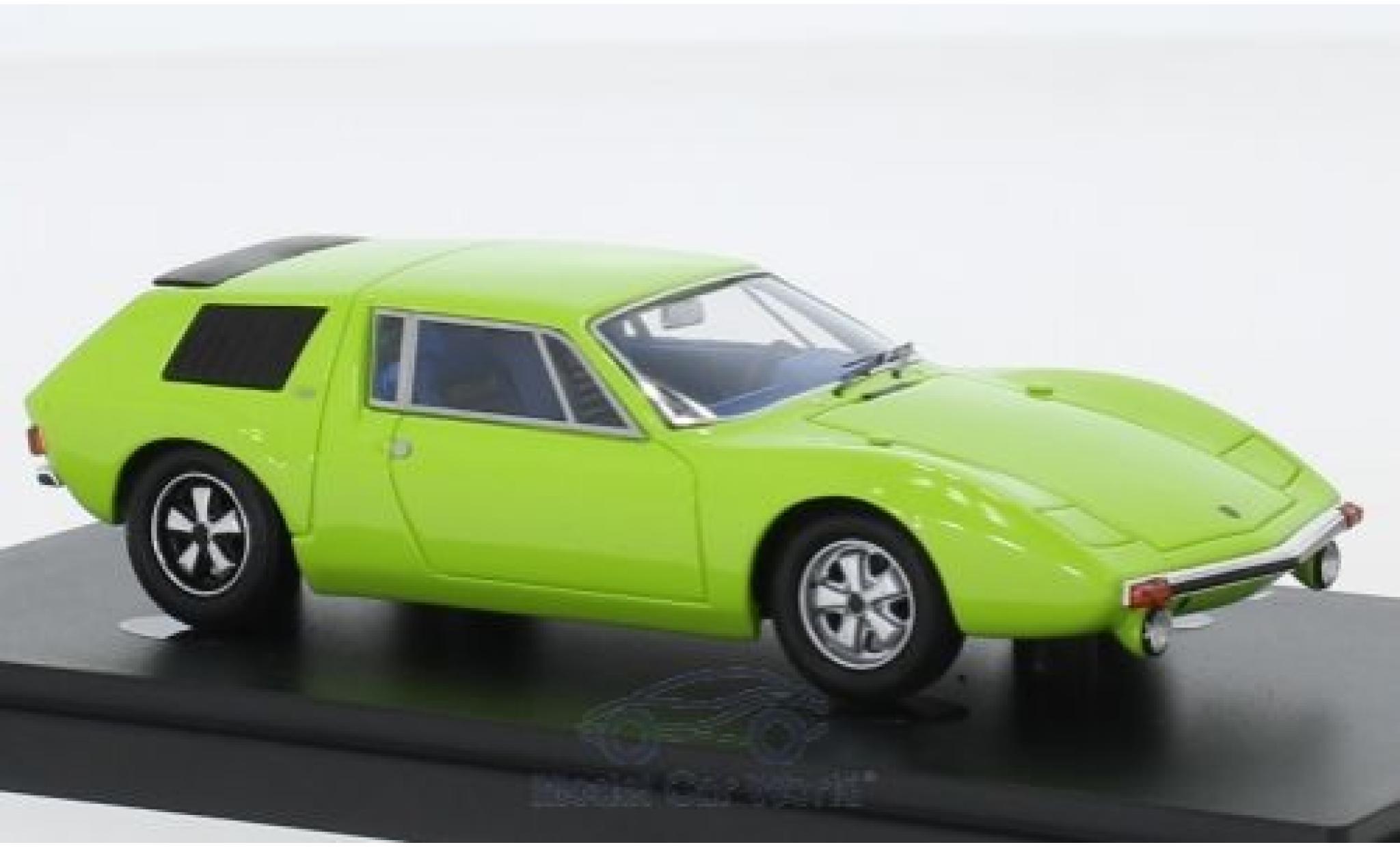 Porsche 914 1/43 AutoCult /6 Graf Goertz verte 1970
