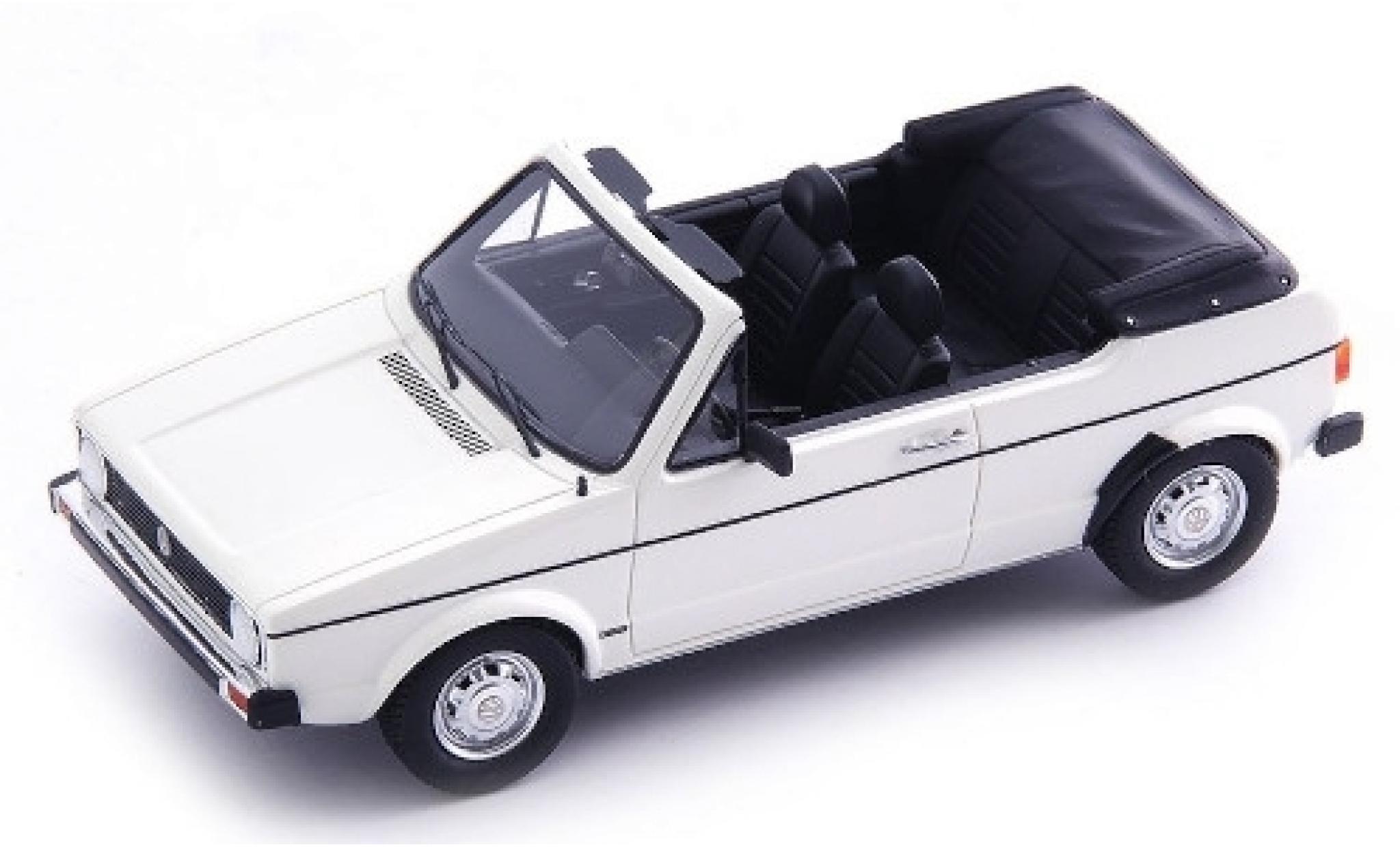 Volkswagen Golf 1/43 AutoCult I Cabriolet Prougeotyp blanche 1976