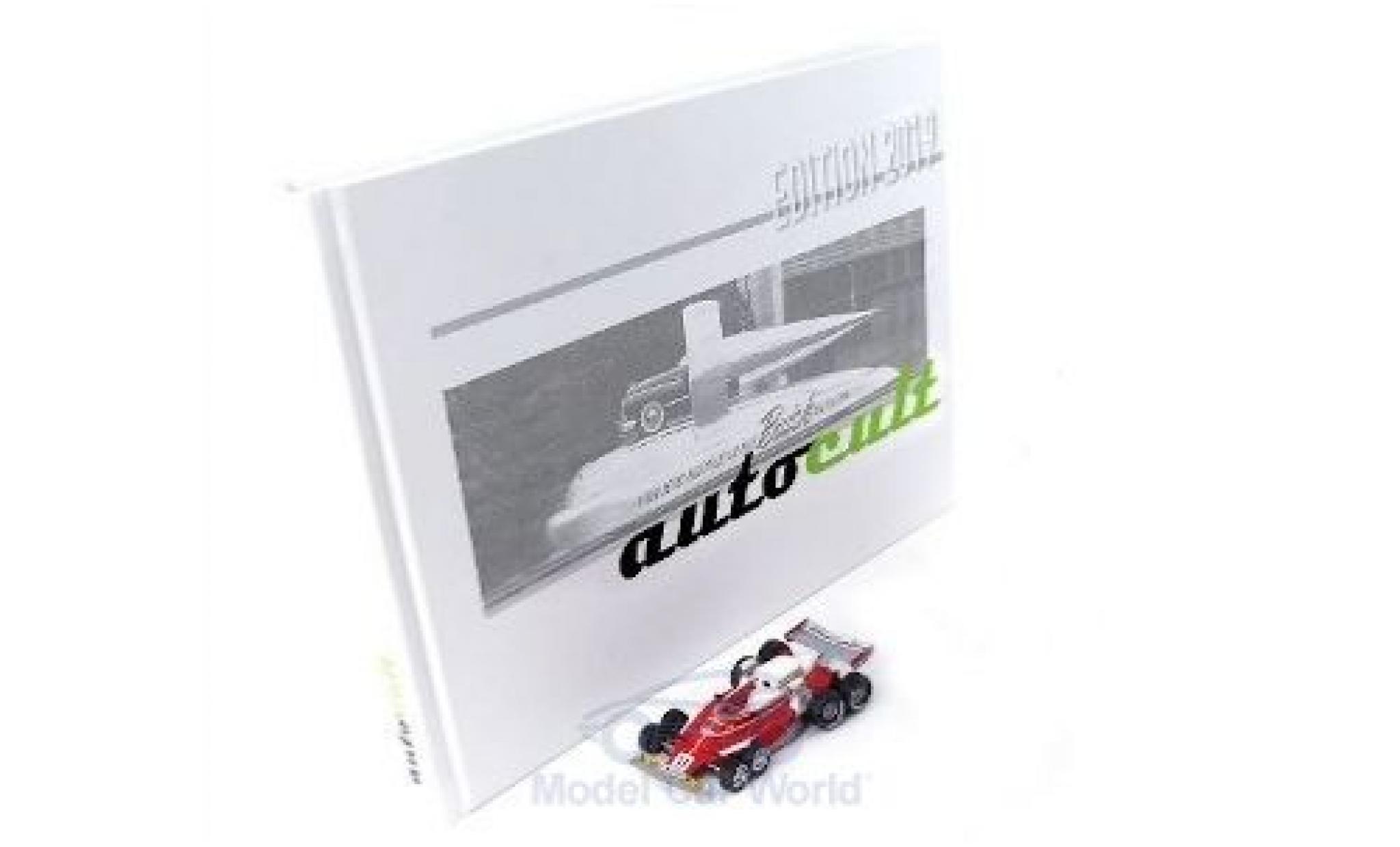 Ferrari 312 1/43 AutoCult T8 No.11 1976 mit Jahrbuch 2019 C.Regazzoni