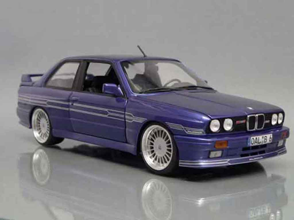 Bmw M3 E30 1/18 Autoart Alpina b6 35s tuning diecast model cars