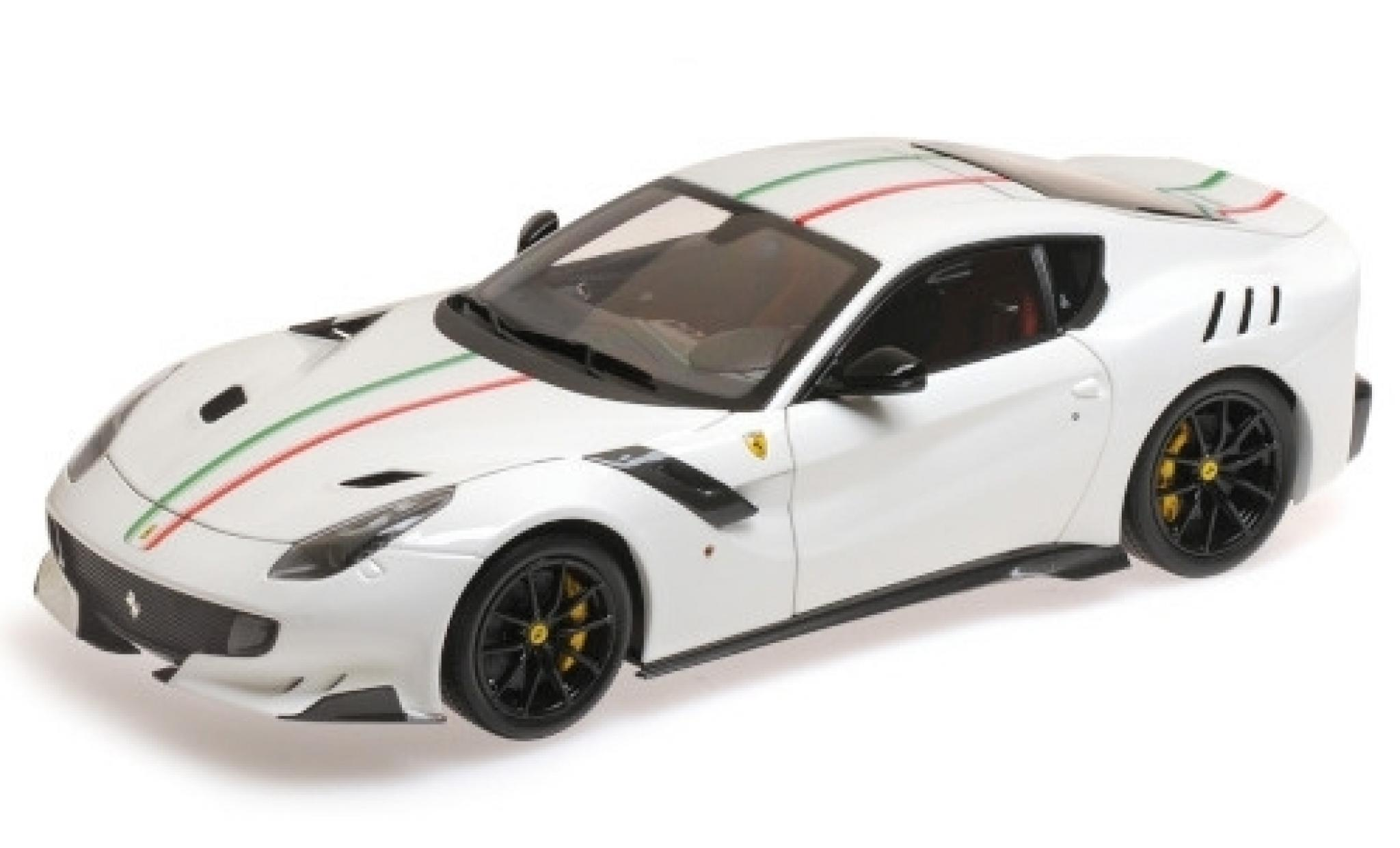 Ferrari F1 1/18 BBR Models 2 TDF white/Dekor