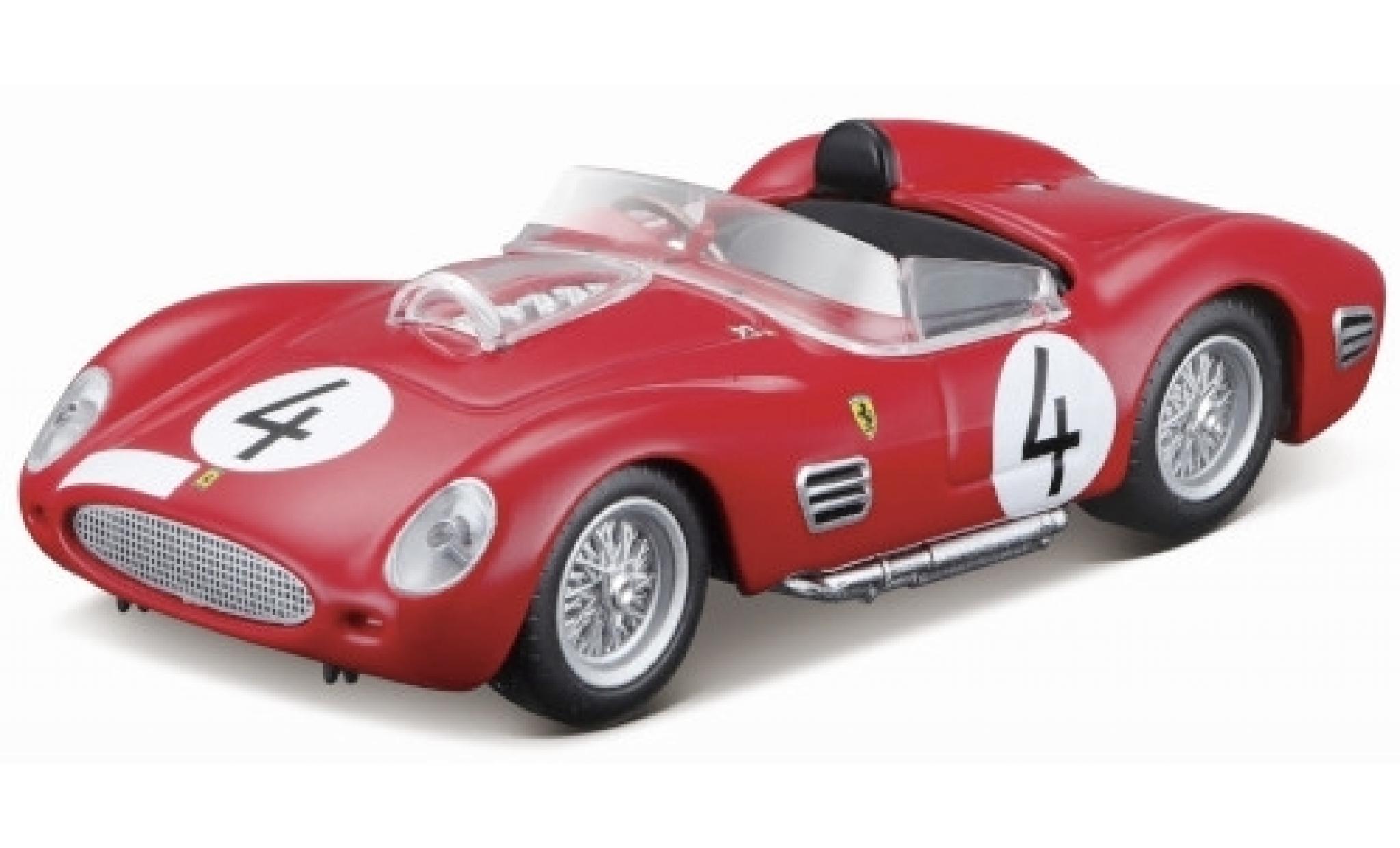 Ferrari 250 1/43 Bburago TR RHD No.4 Scuderia 1000km Nürburgring 1959 O.Gendebien/P.Hill