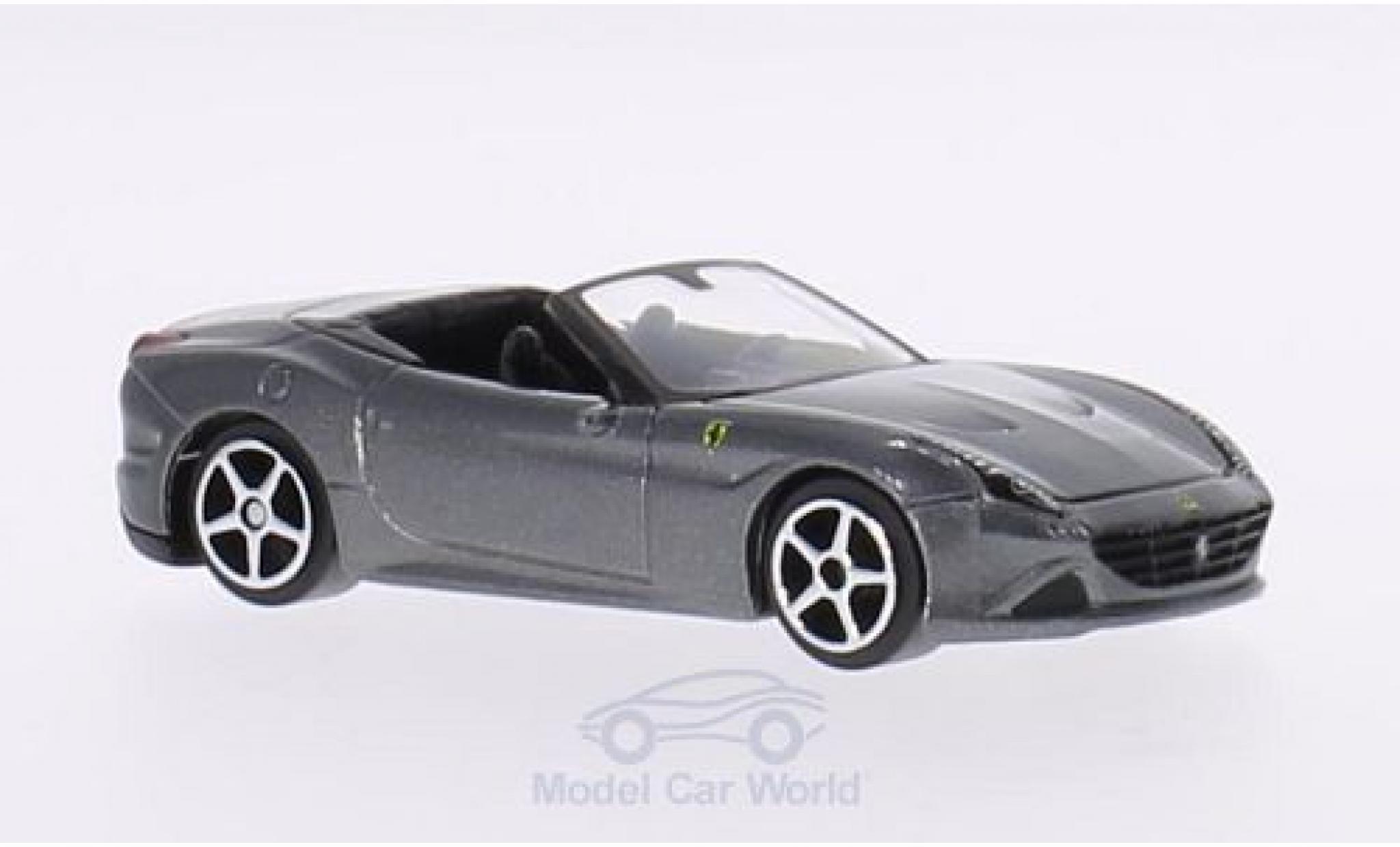 Ferrari California 1/64 Bburago T metallise grau