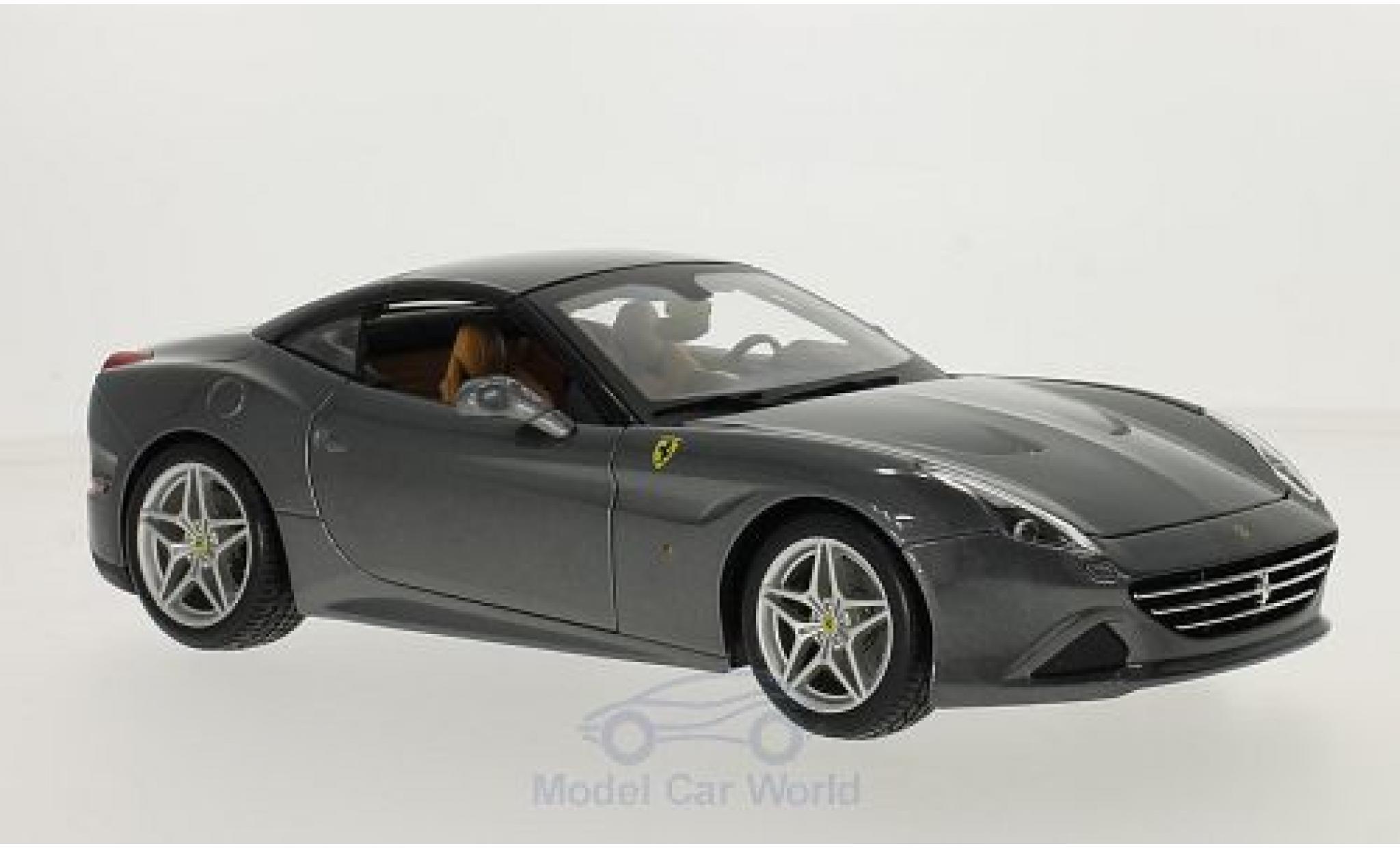 Ferrari California 1/18 Bburago T metallise grise/noire