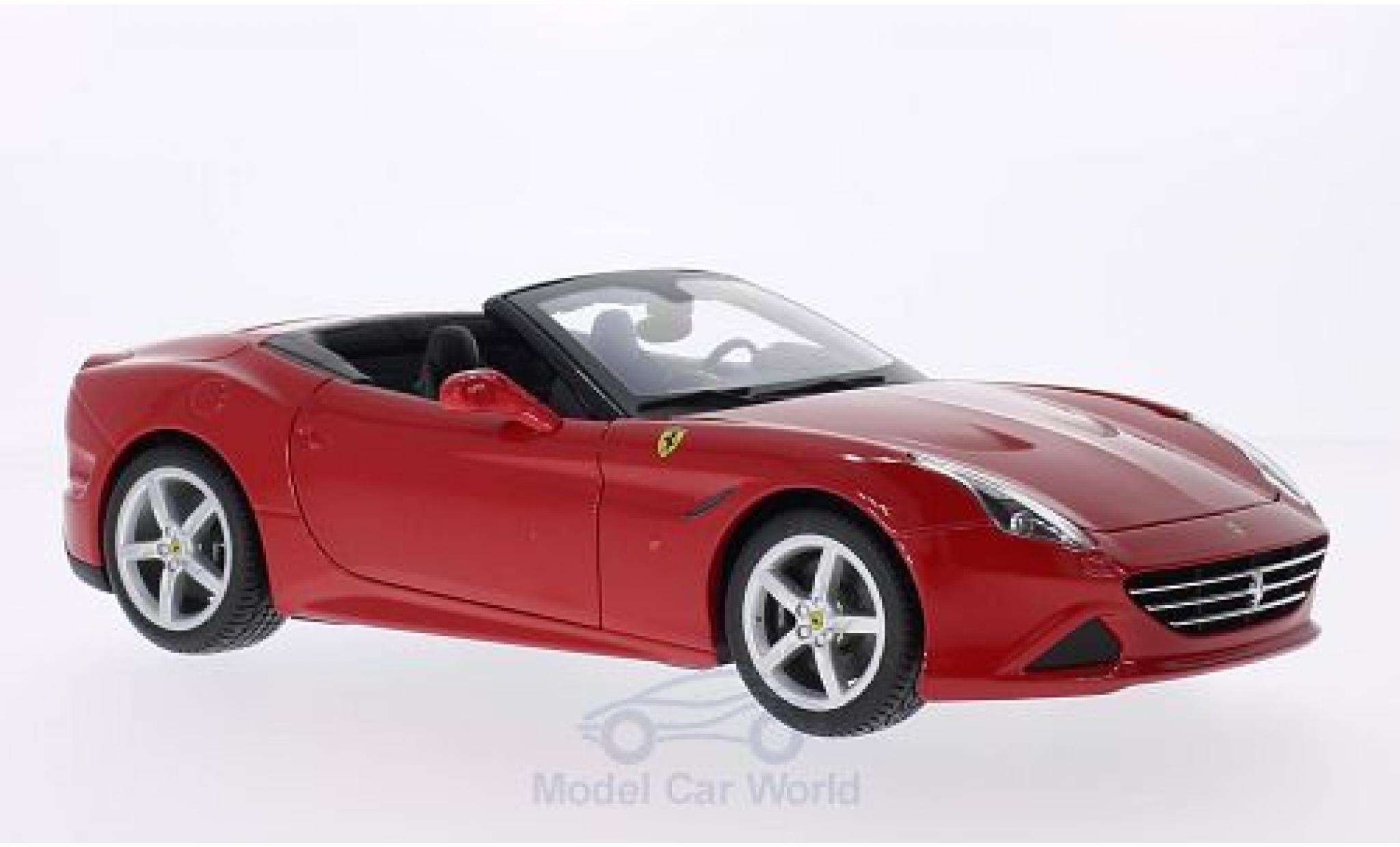 Ferrari California 1/18 Bburago T rouge 2014 offen