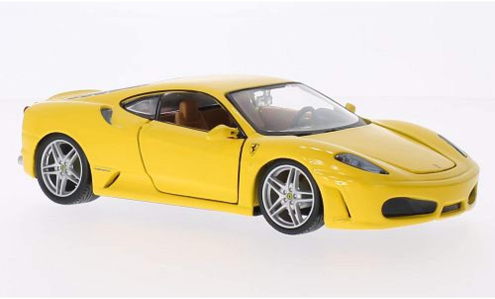 Ferrari F430 1/24 Bburago jaune