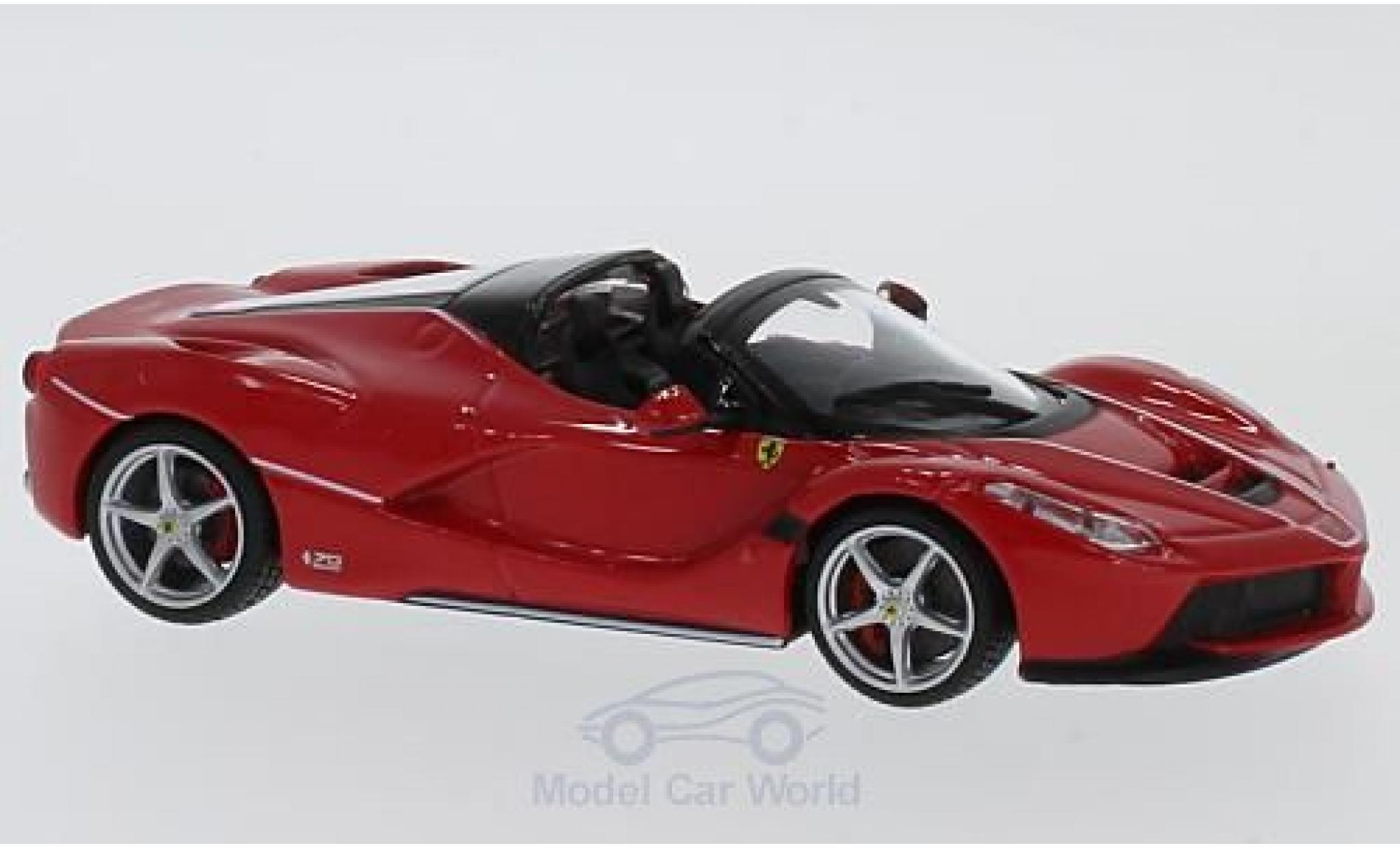 Ferrari LaFerrari 1/43 Bburago Laferrari Aperta red