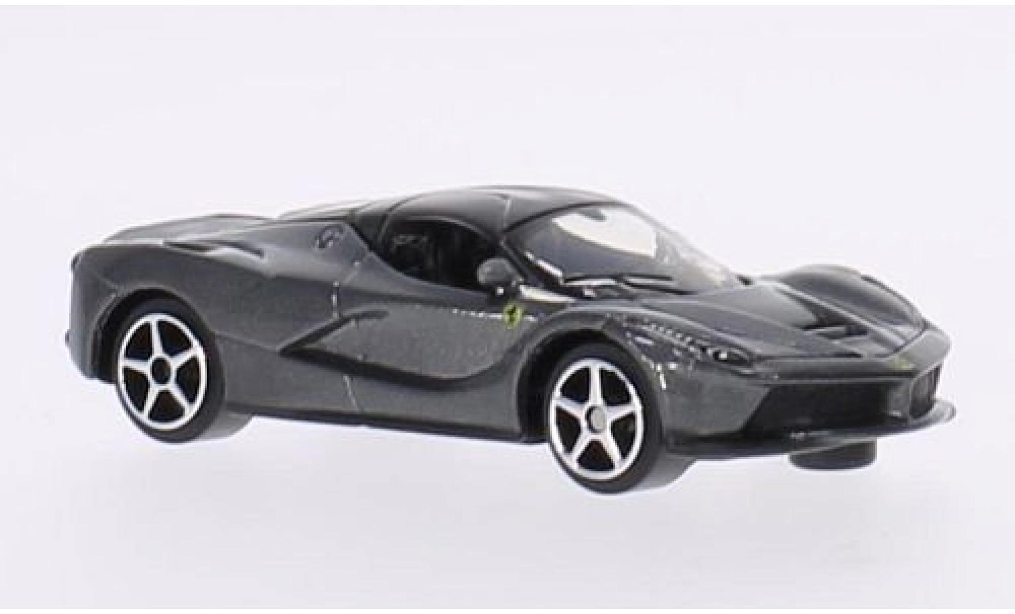 Ferrari LaFerrari 1/64 Bburago La metallise grise