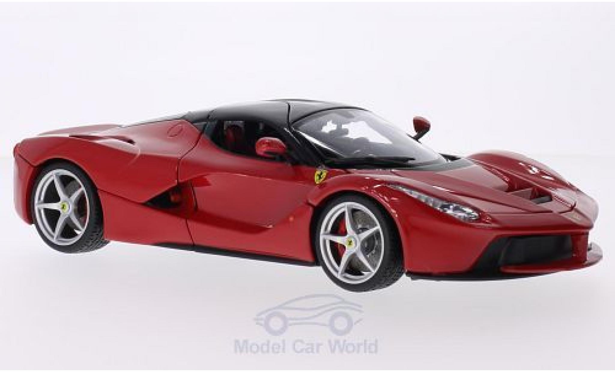 Ferrari LaFerrari 1/18 Bburago La rouge ohne Vitrine