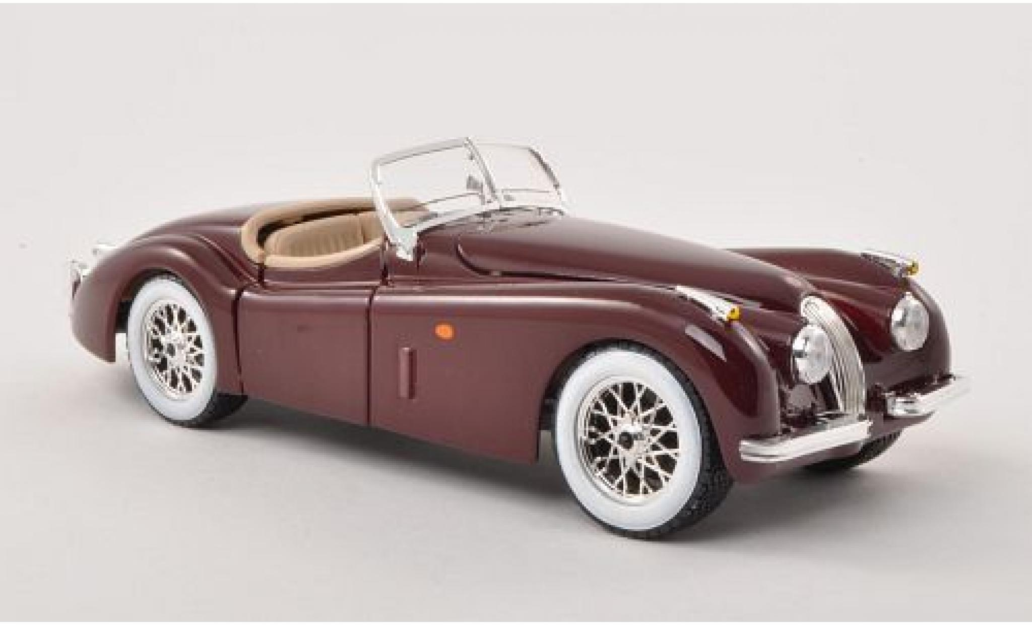 Jaguar XK 1/24 Bburago 120 Roadster red 1948