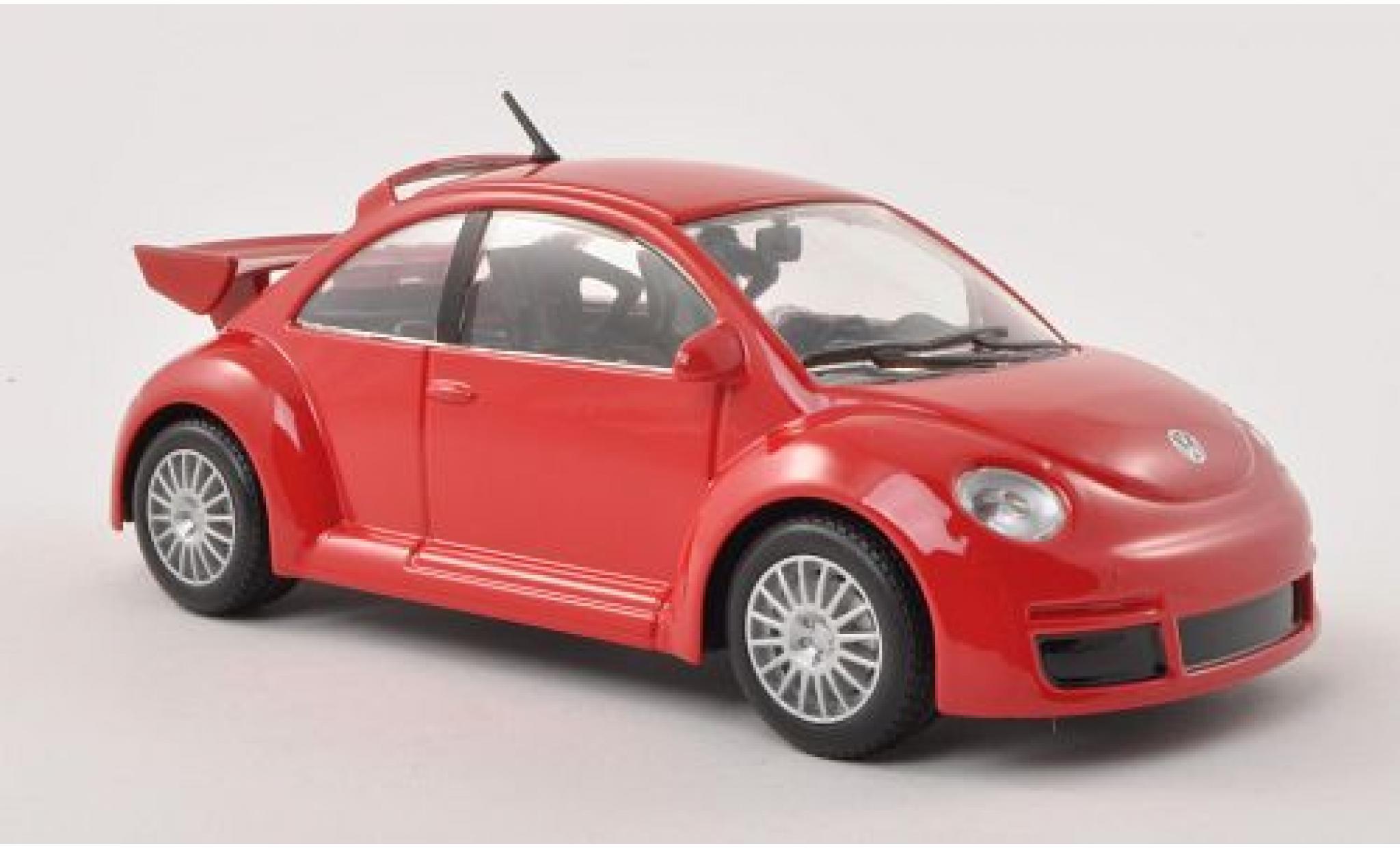 Volkswagen New Beetle 1/24 Bburago RSI rouge