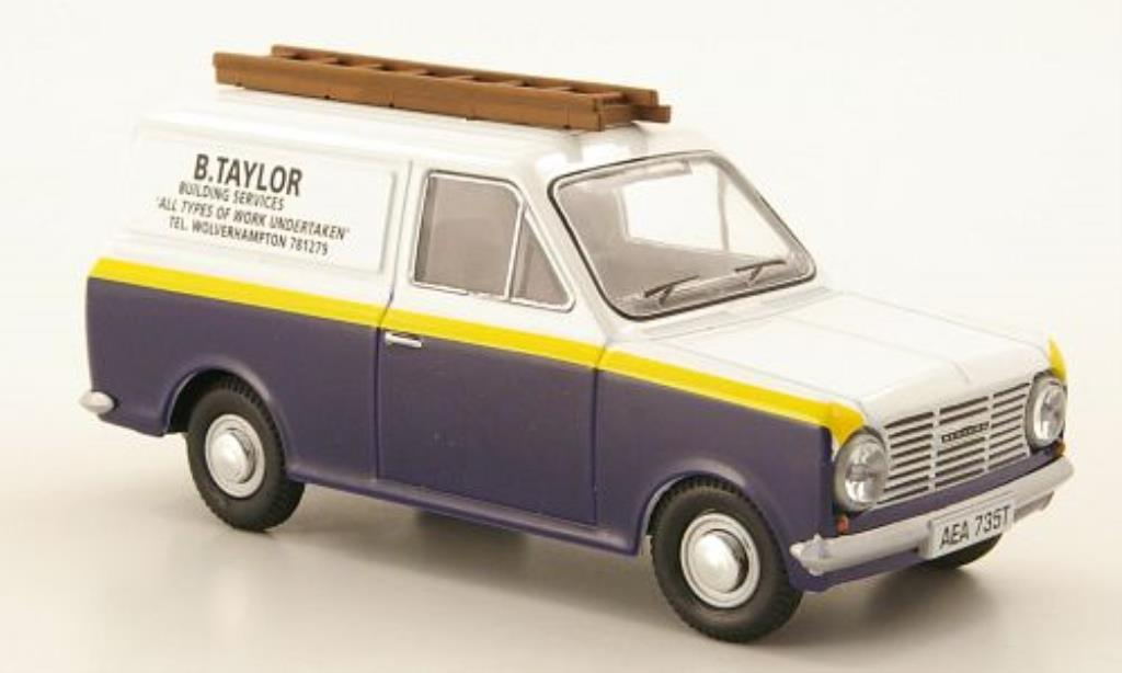 Bedford HA 1/43 Oxford Van B.Taylor Building Services miniature