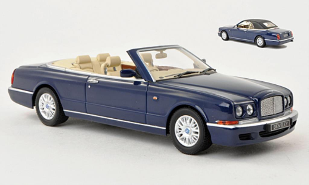 Bentley Azure 1/43 Minichamps bleu RHD 1996 miniature