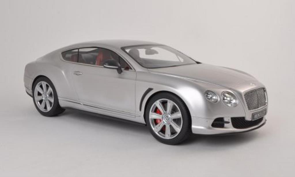 Bentley Continental GT 1/12 CMF Speed grise RHD 2012 miniature