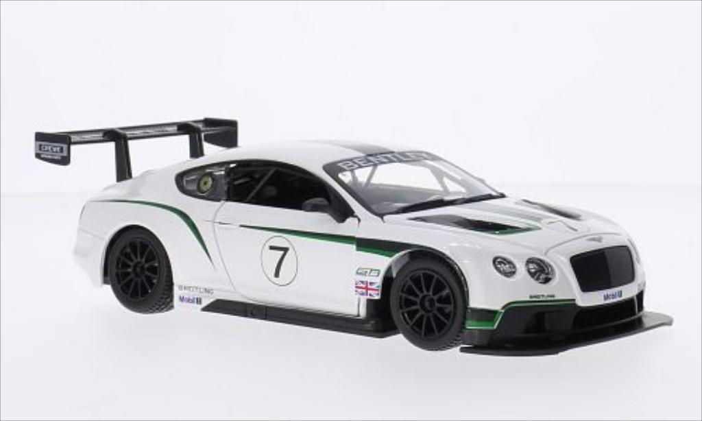 Bentley Continental 1/24 Burago GT3 RHD No.7 diecast
