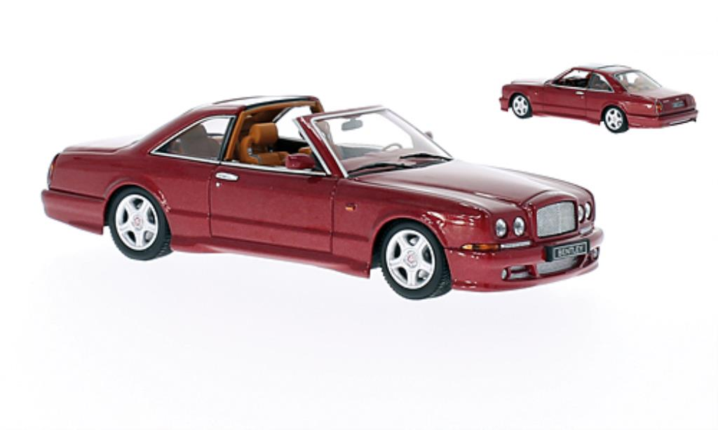 Bentley Continental 1/43 Minichamps SC rouge LHD 1996 miniature