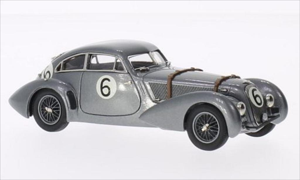 Bentley Embiricos 1/43 Brooklin metallic-grise No.6 24h Le Mans 1949 miniature
