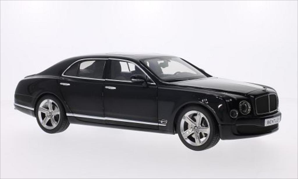 Bentley Mulsanne 1/18 Kyosho Speed metallise anthrazit 2014 diecast model cars