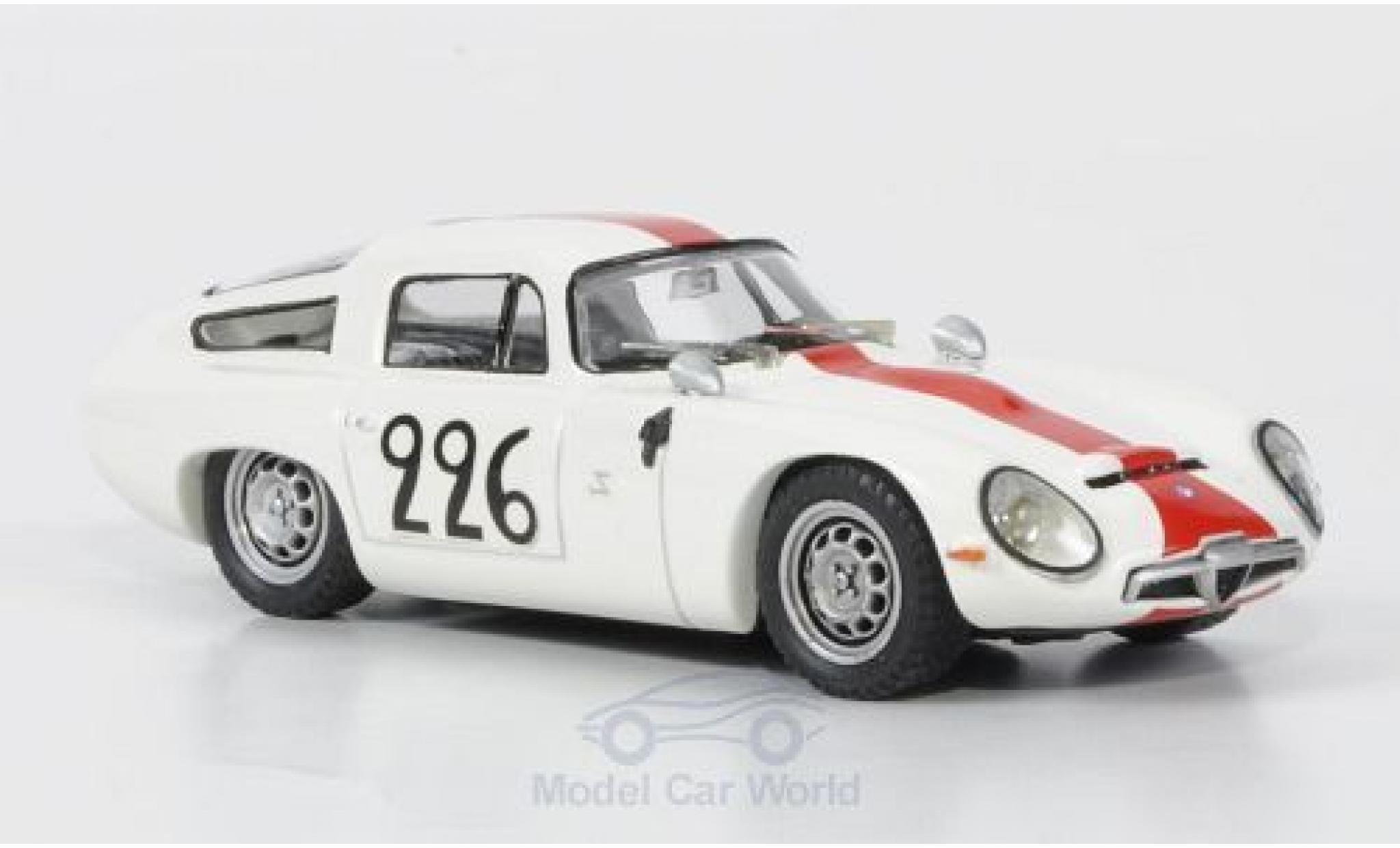 Alfa Romeo TZ1 1/43 Best Ramu / Caccia Mont Ventoux No.226 1964 ohne Vitrine