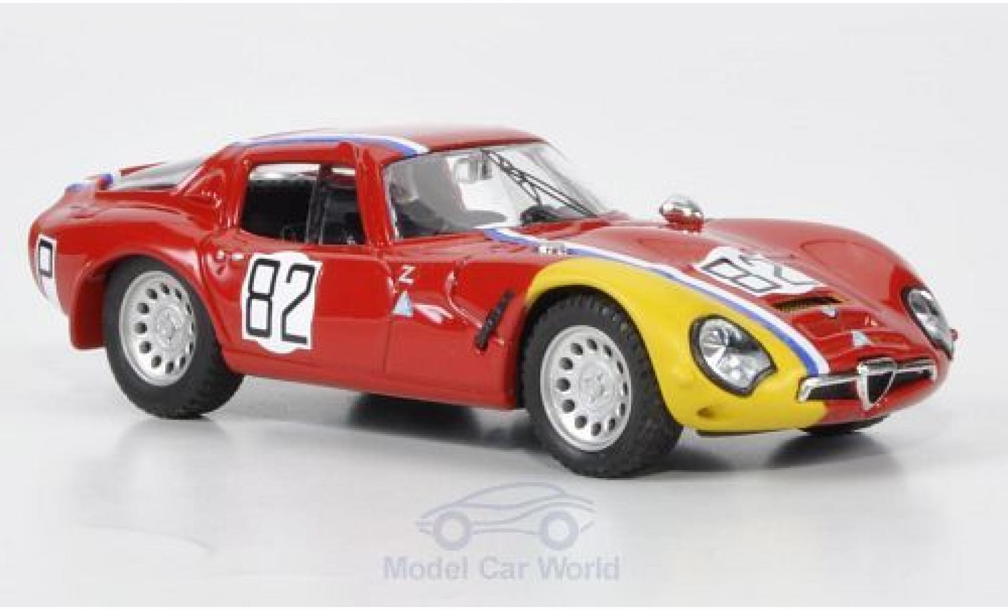 Alfa Romeo TZ2 1/43 Best No.82 Nürburgring 1967