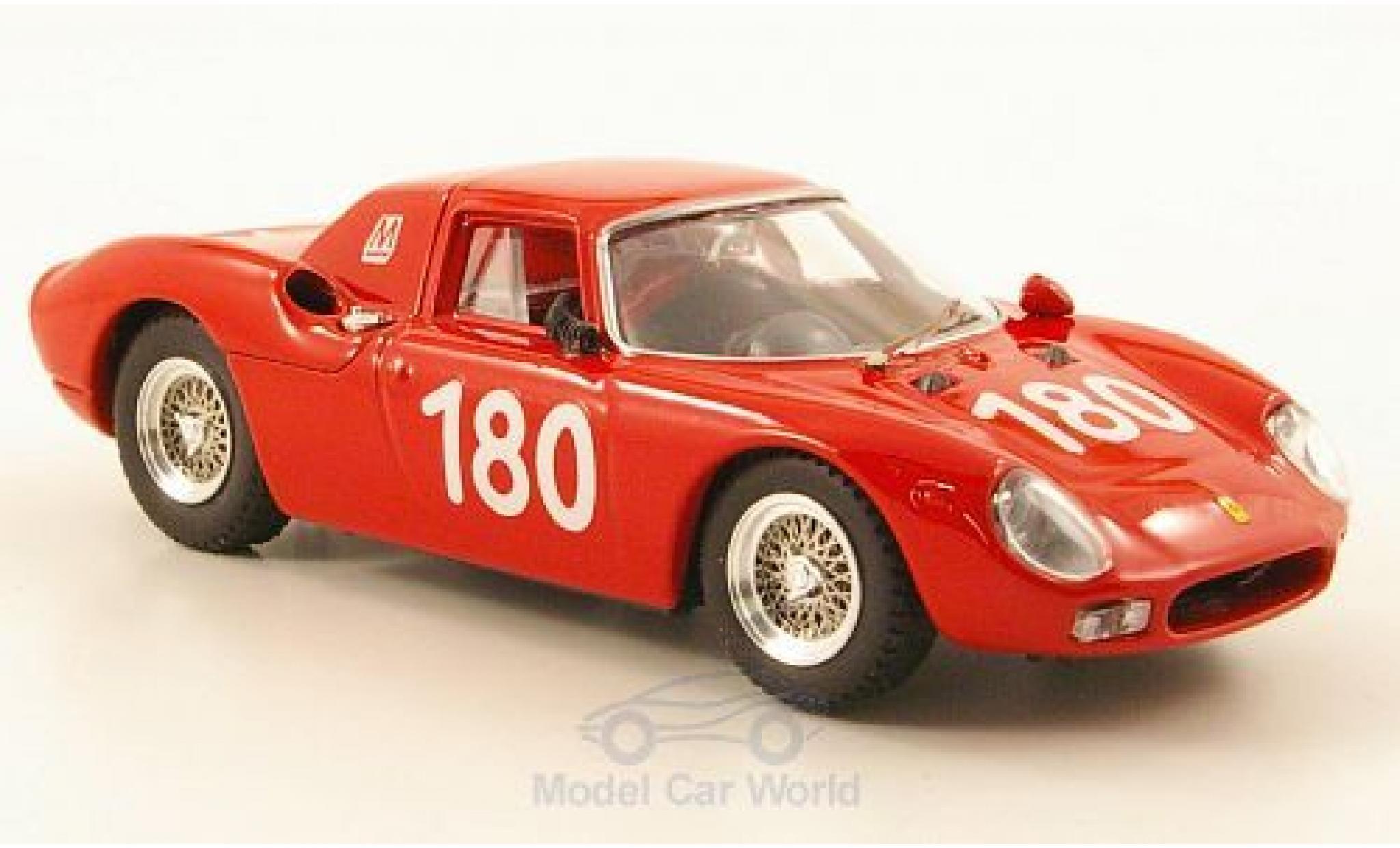 Ferrari 250 LM 1/43 Best LM No.180 Targa Florio 1966 C.Ravetto/G.Starrraba