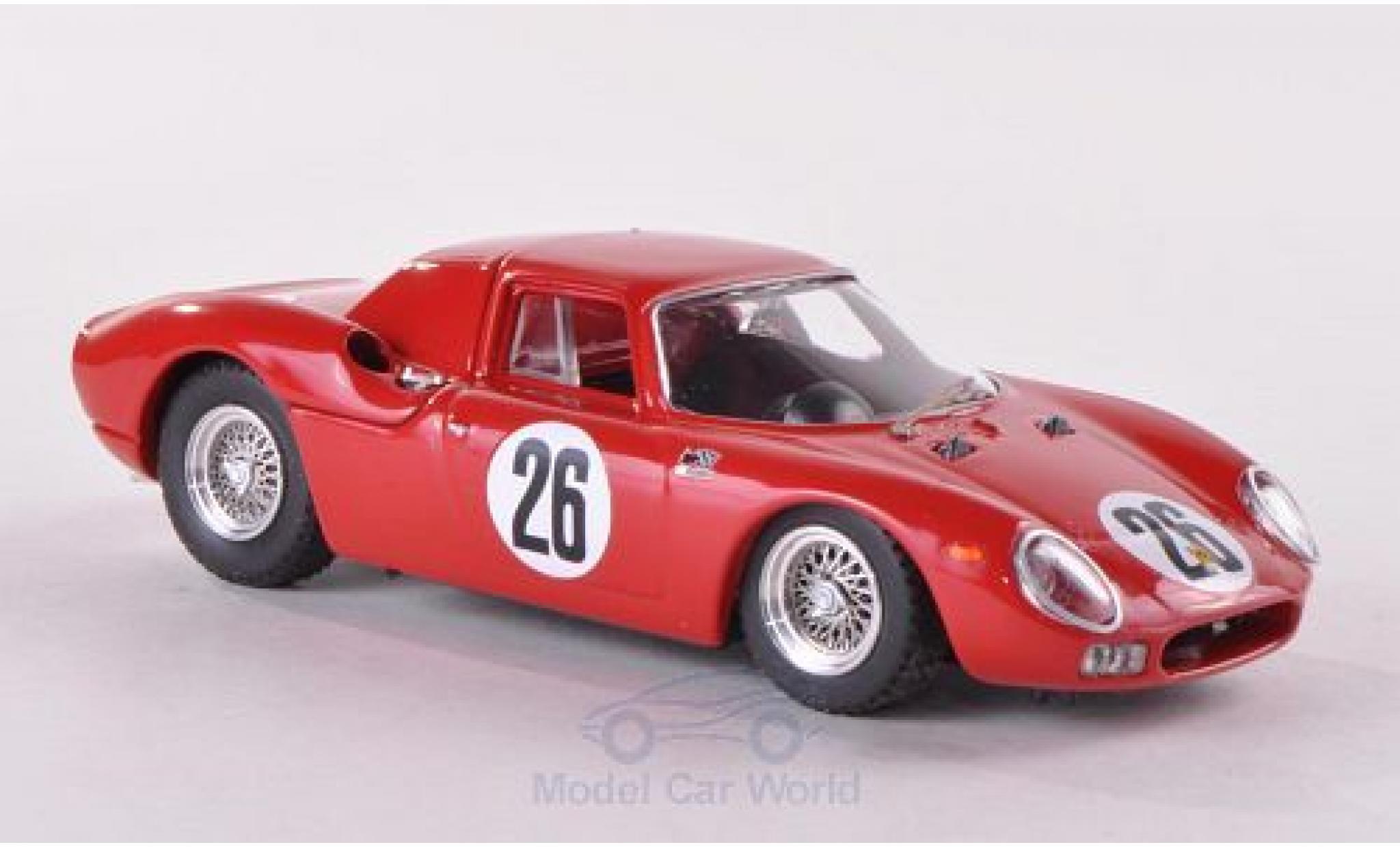 Ferrari 250 P 1/43 Best LM No.26 1000km Paris 1966 Parkes