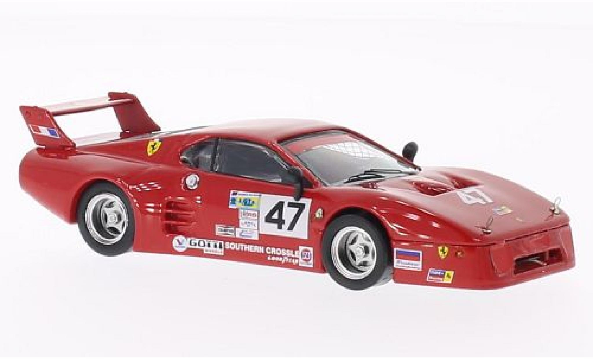 Ferrari 512 1/43 Best BB LM No.47 Tide Racing Daytona 500 1982 A.Davis/B.De Dryver
