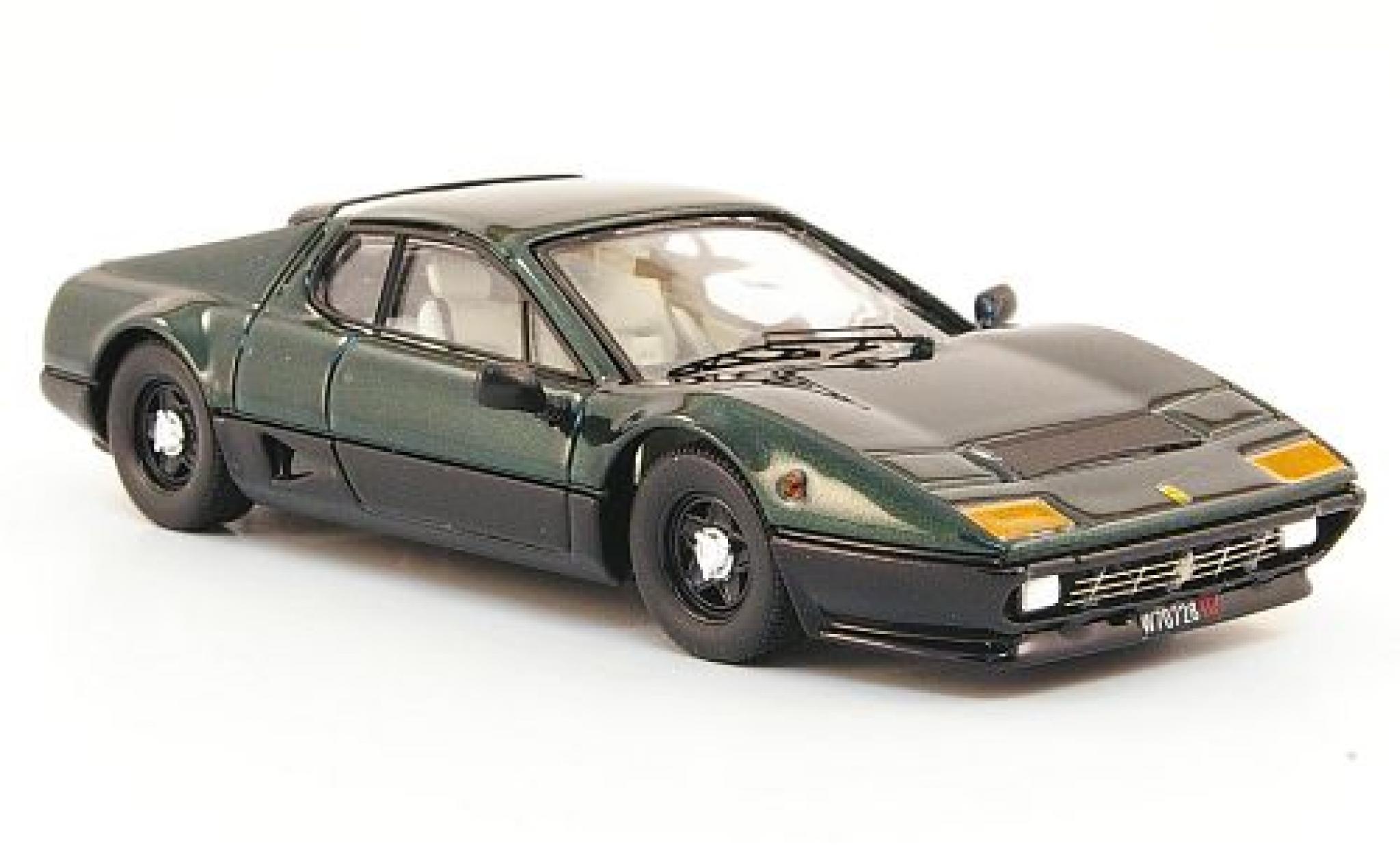 Ferrari 512 1/43 Best BB metallise verte/noire 1976