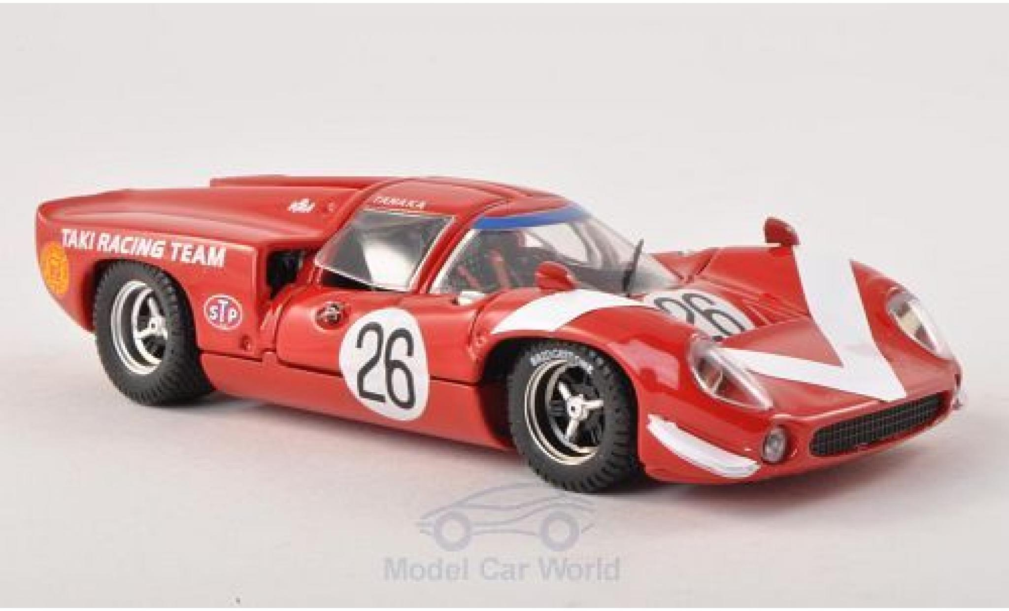 Lola T70 1/43 Best Coupe No.26 Taki Racing Team GP Japan 1968