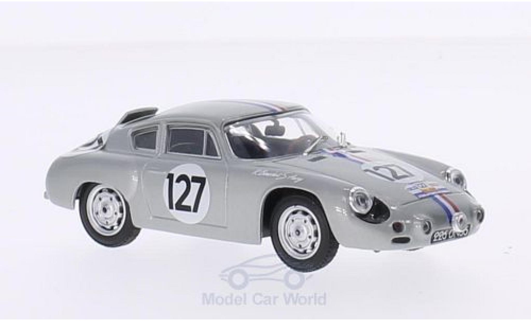 Porsche Abarth 1/43 Best No.127 Tour de France 1961 R.Bouchet/S.Aury