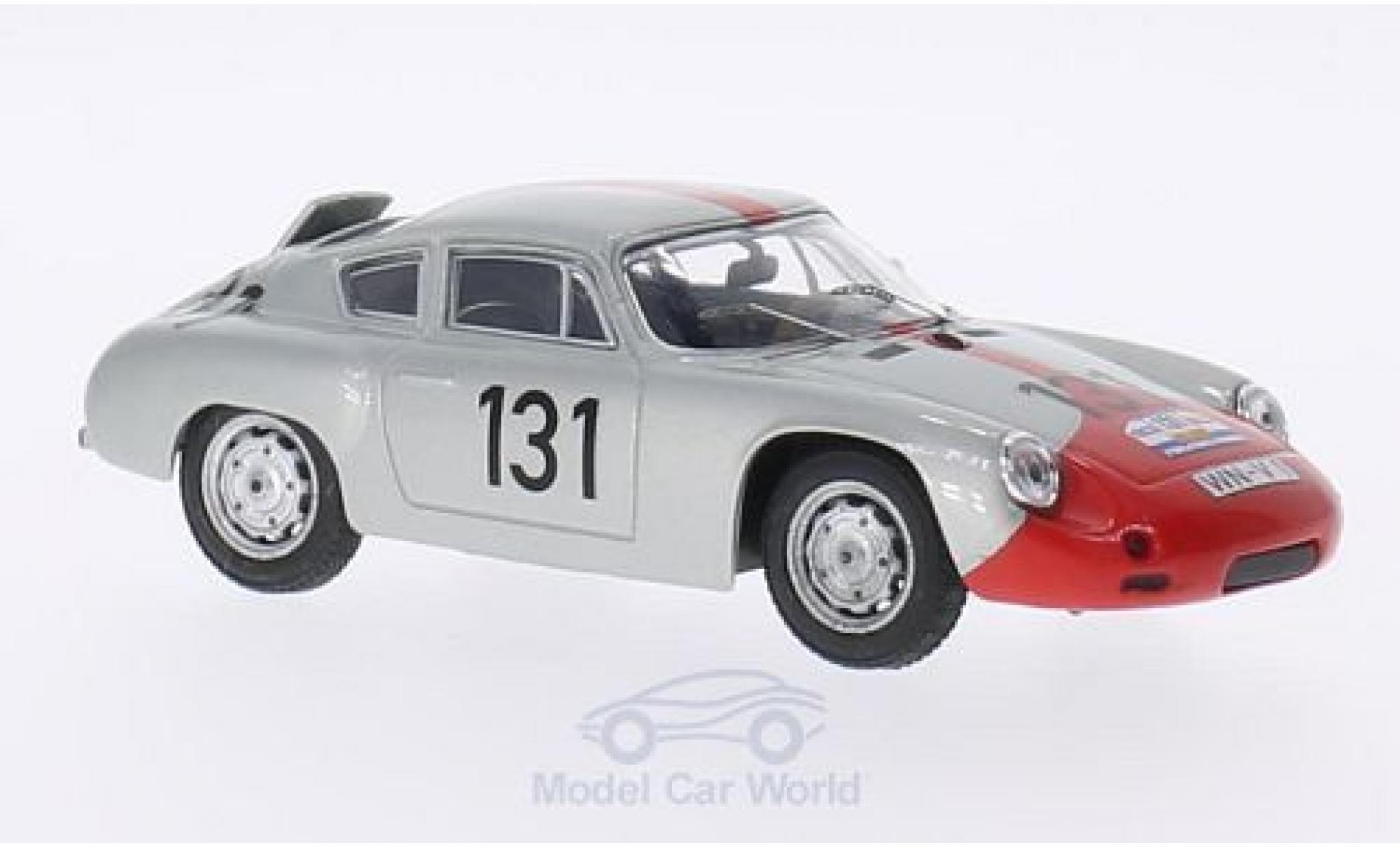 Porsche Abarth 1/43 Best No.131 Tour de France 1961 H.Walter/P.E.Strähle