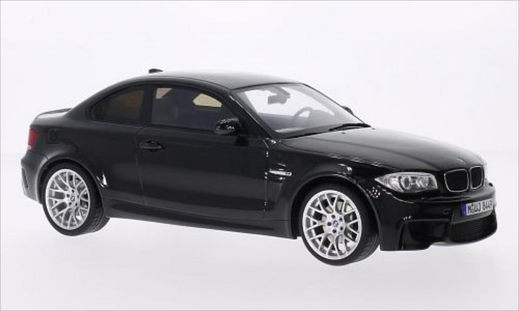 bmw 1er m coupe e82 metallic black 2013 mcw diecast. Black Bedroom Furniture Sets. Home Design Ideas